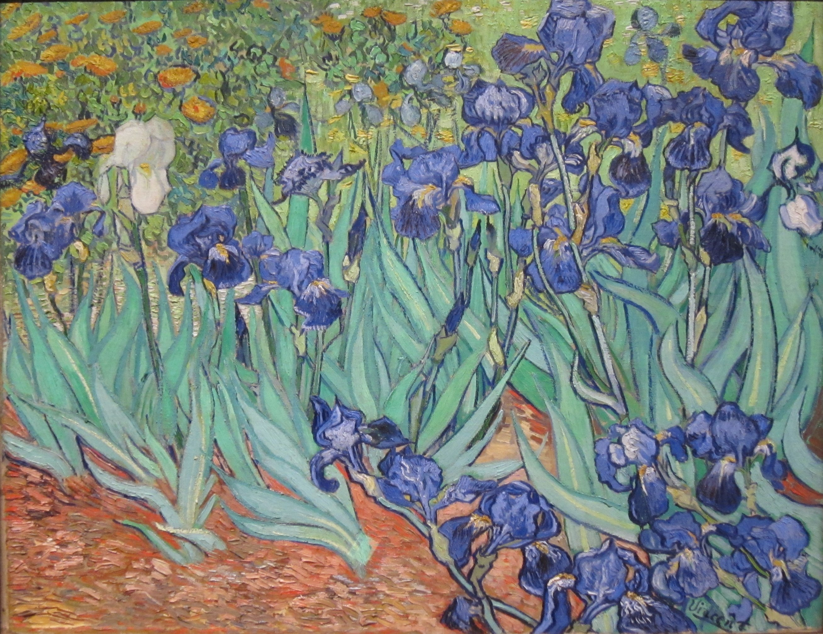 File irises by vincent van gogh in for Van gogh paintings locations