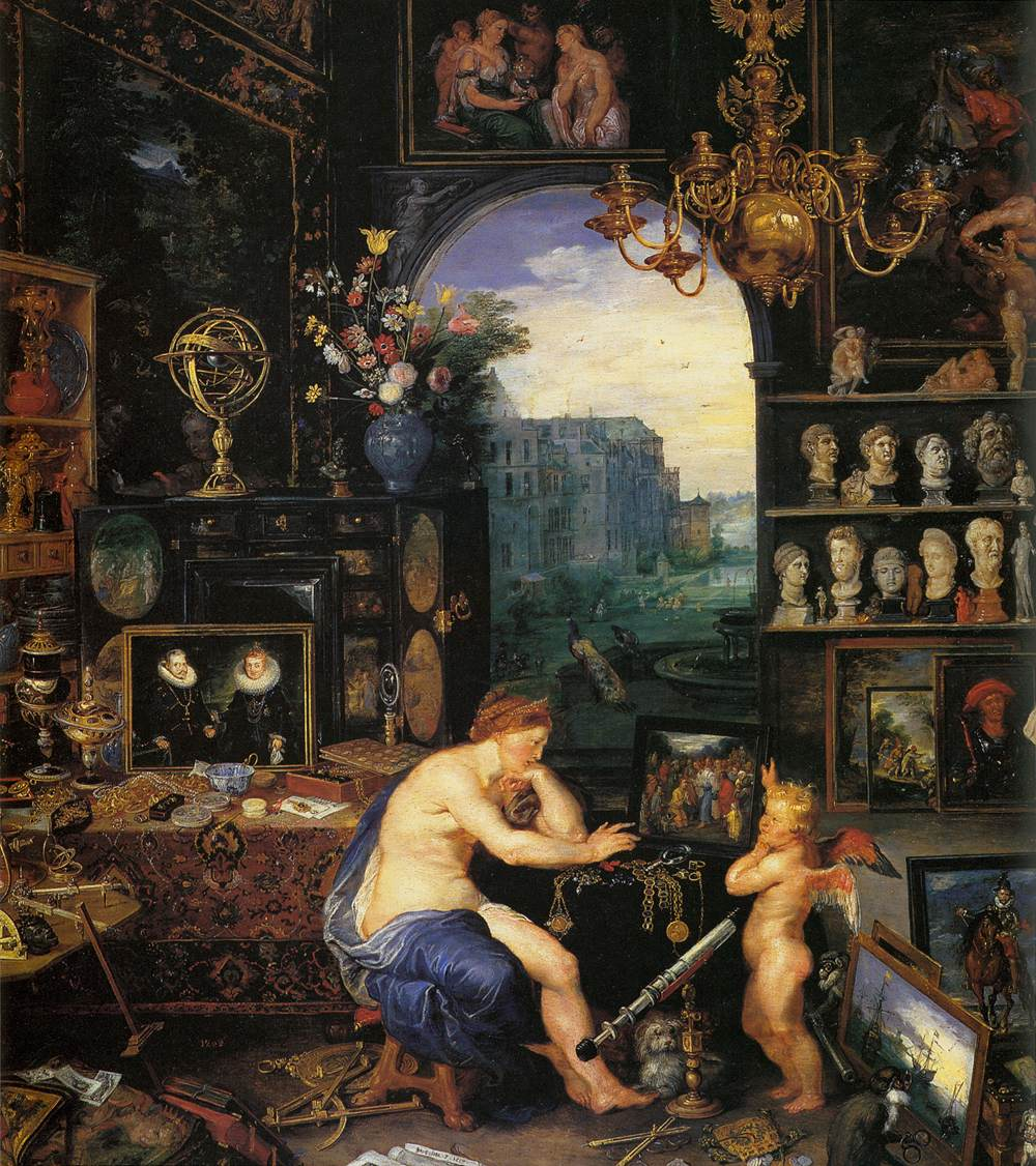 an analysis of the famous works sight and an extraordinary oil painting created by jan brueghel and