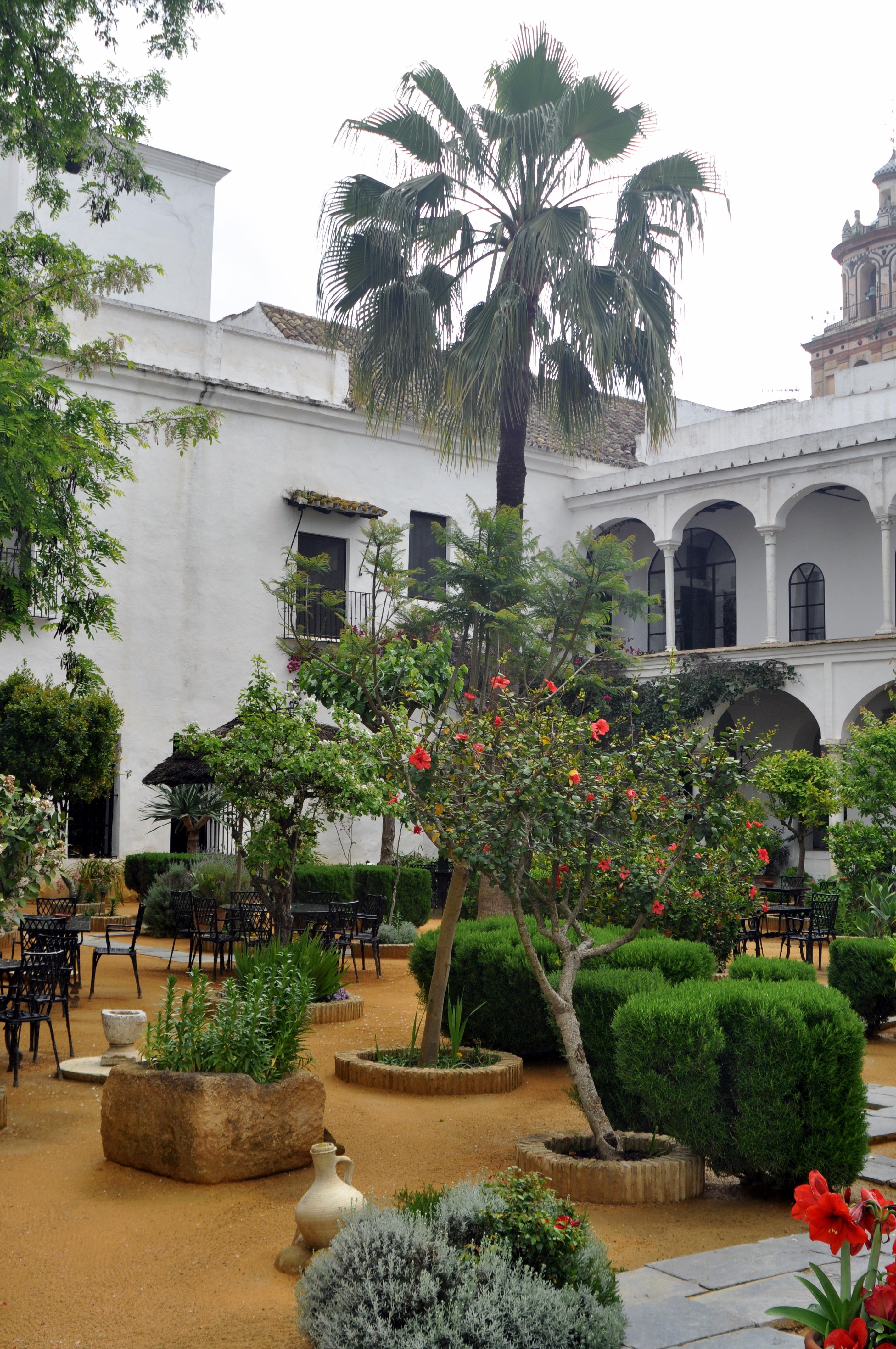 File jardines palacio medina sidonia jpg wikimedia commons for Arboles de jardin de hoja perenne