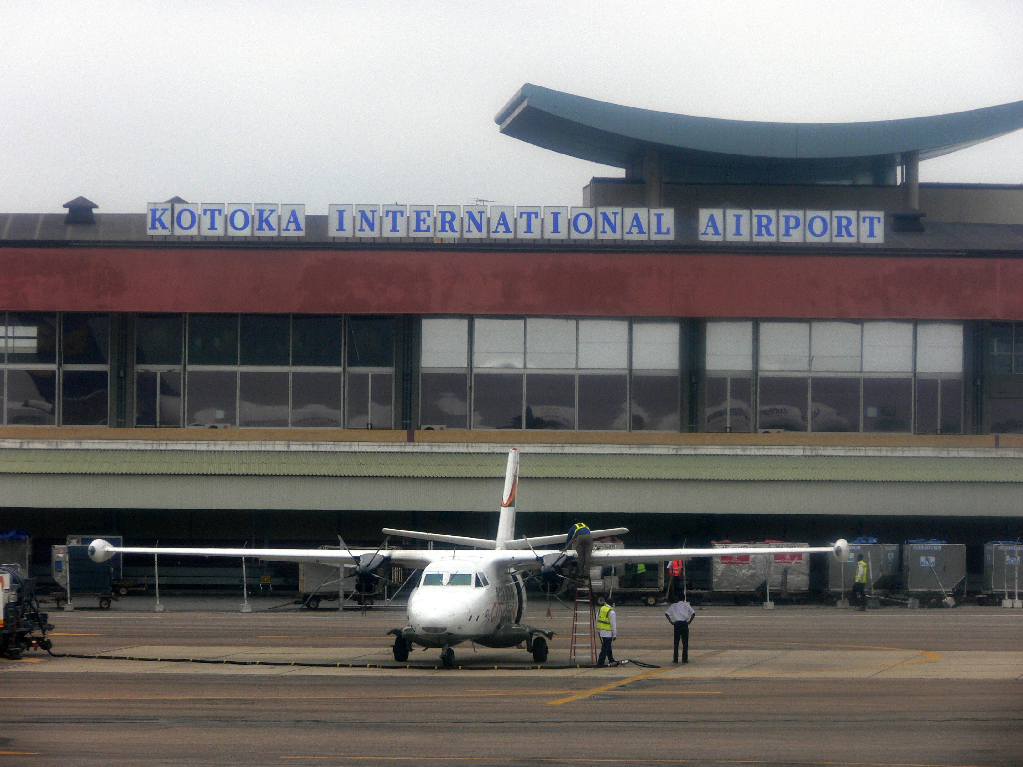 Аэропорт Аккра Котока (Accra Kotoka International Airport).