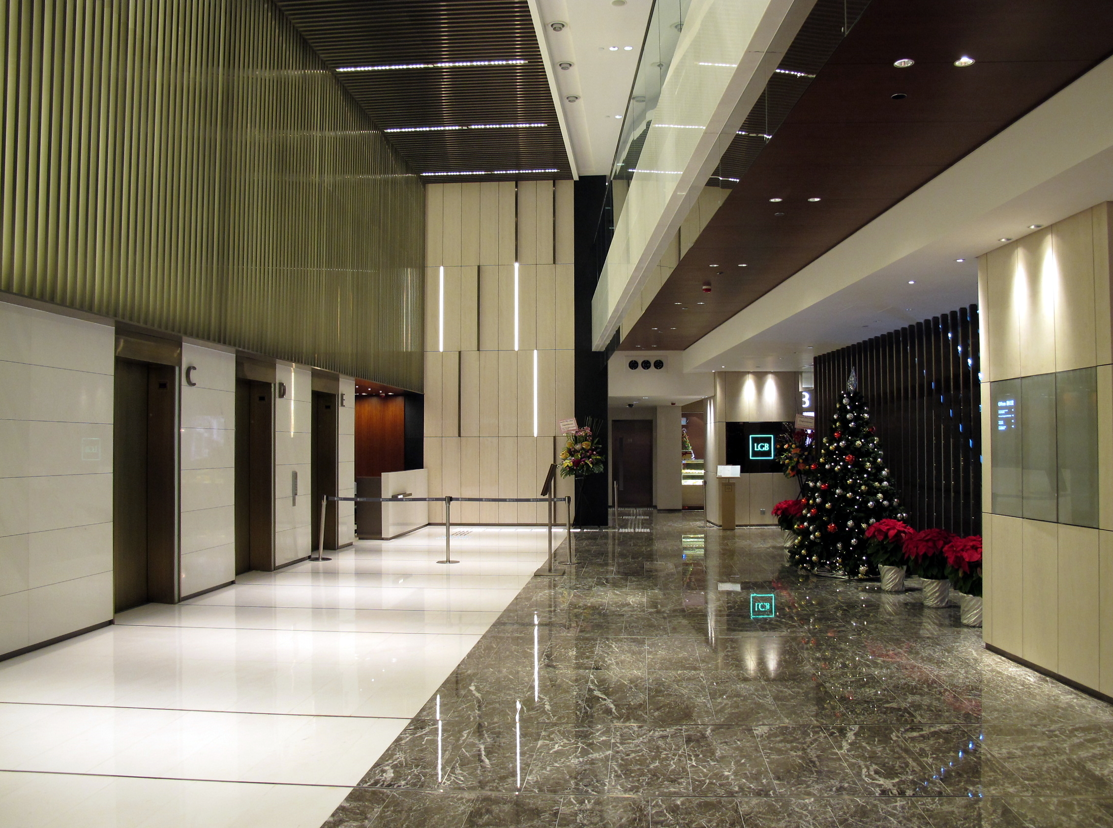 Lobby Area Interior Design