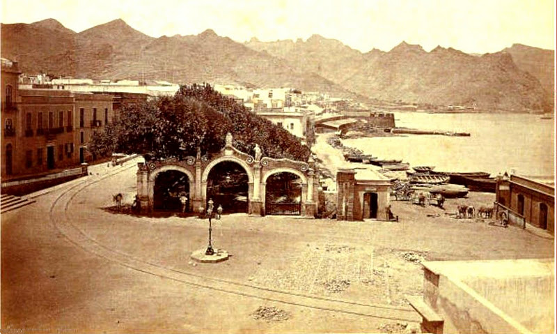 La Alameda de Santa Cruz (Tenerife 1876)