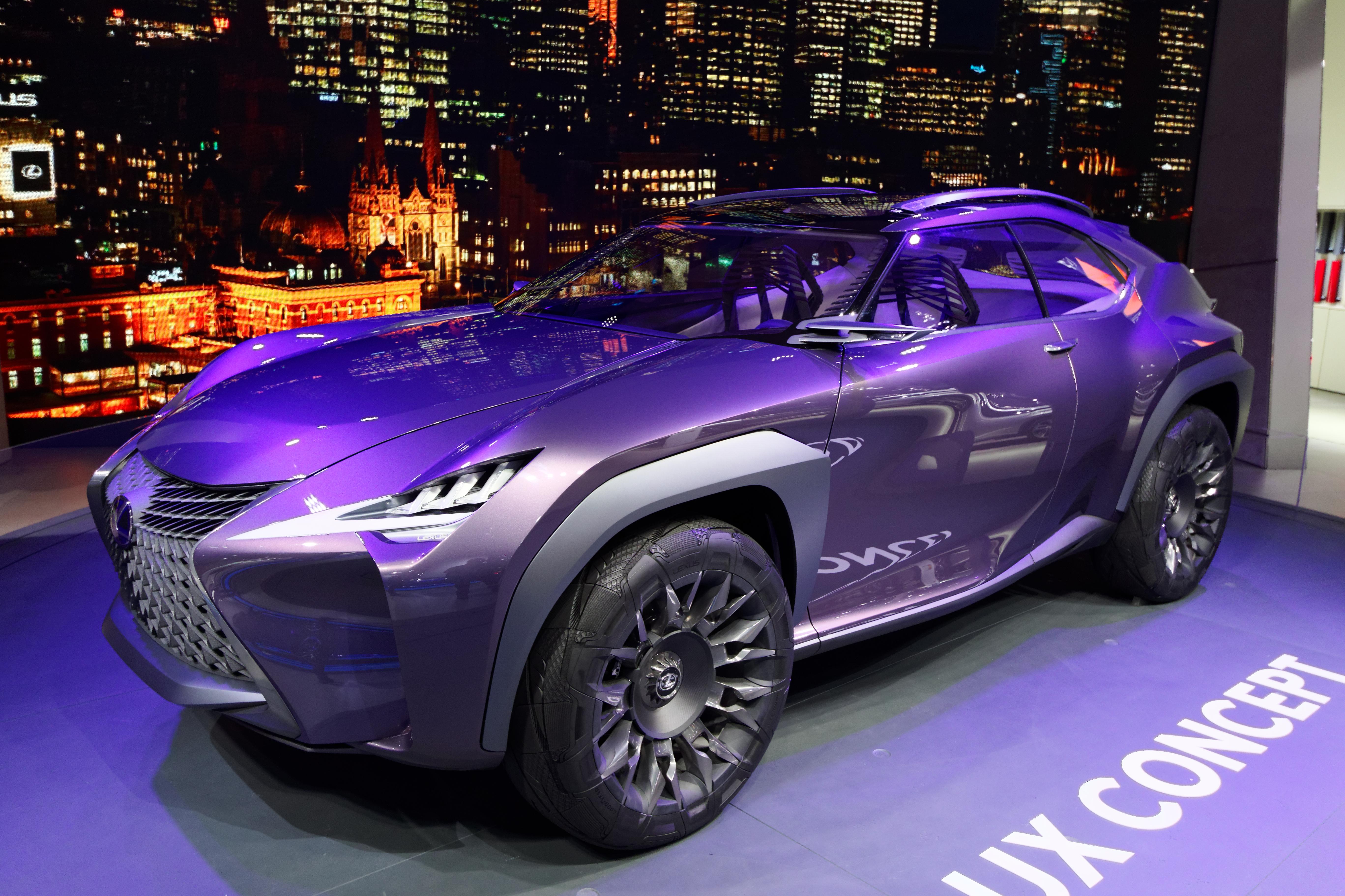 File:Lexus UX Concept - Mondial de l\'Automobile de Paris 2016 - 005 ...