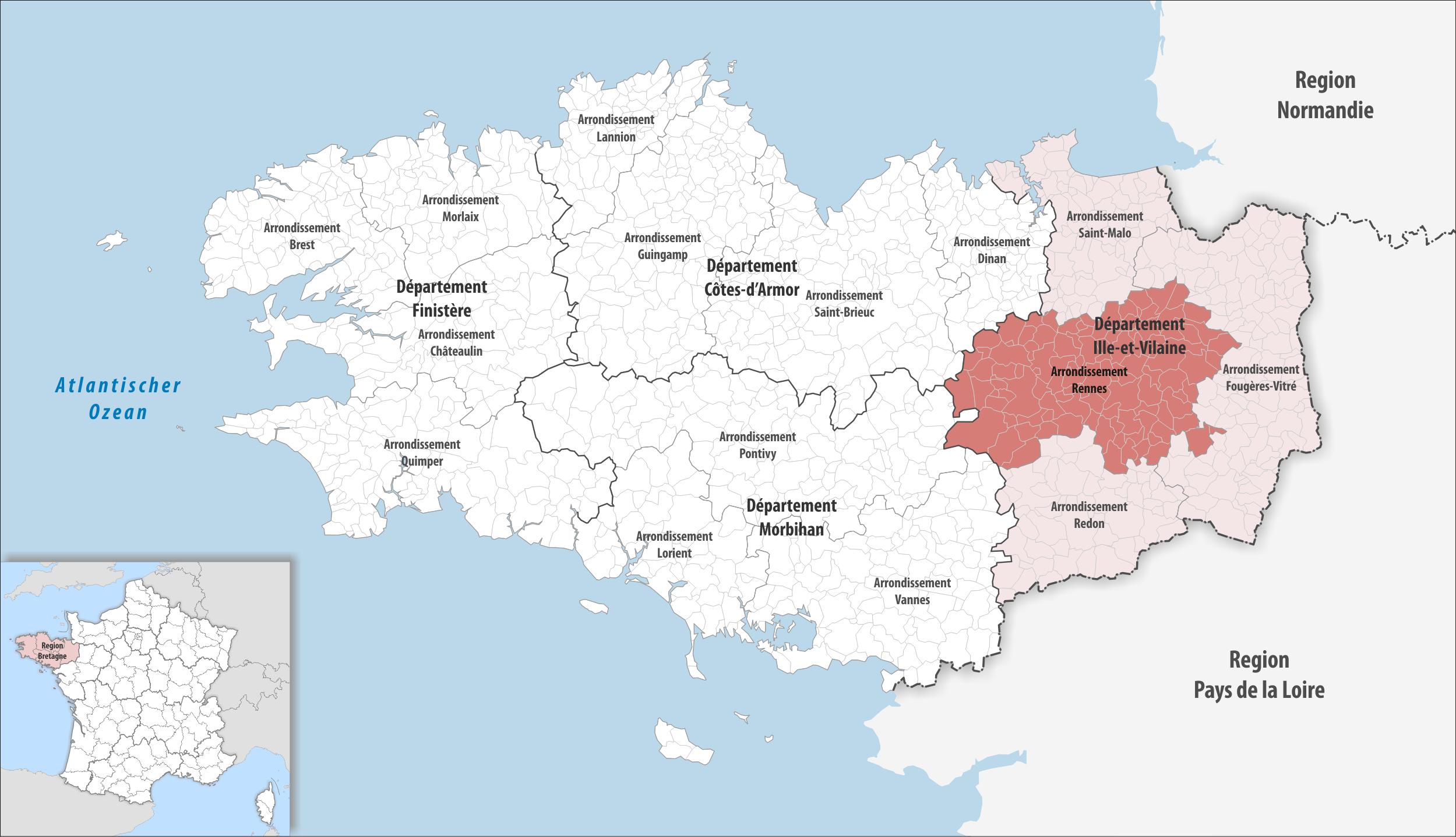 Arrondissement Of Rennes Wikipedia