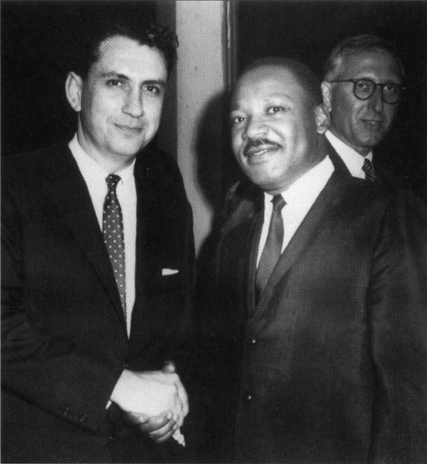 Specter with Martin Luther King, Jr. MLKjr and Specter.jpg