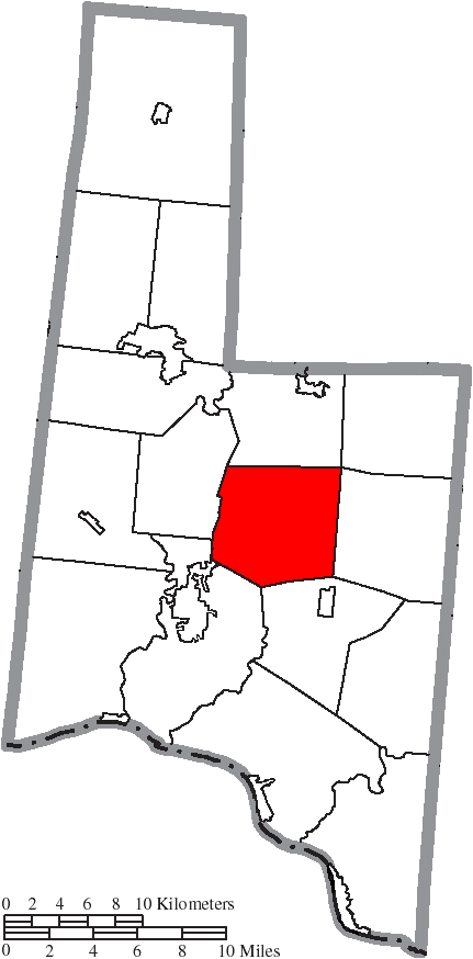 File Map Of Brown County Ohio Highlighting Franklin Township Png