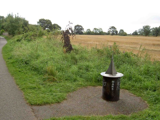 Mars (via York and Selby cycleway) - geograph.org.uk - 1465046