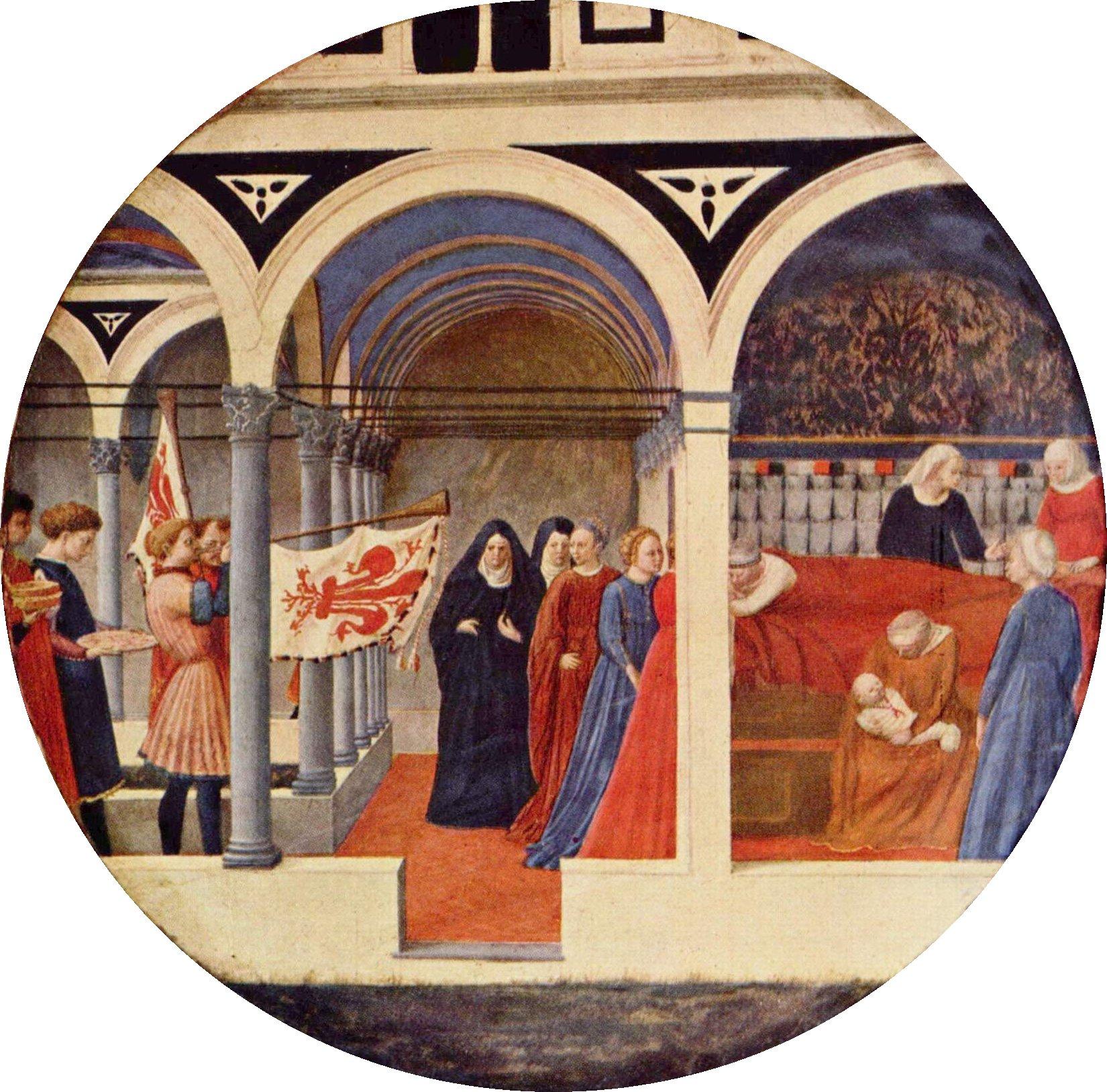 Masaccio, Desco da parto