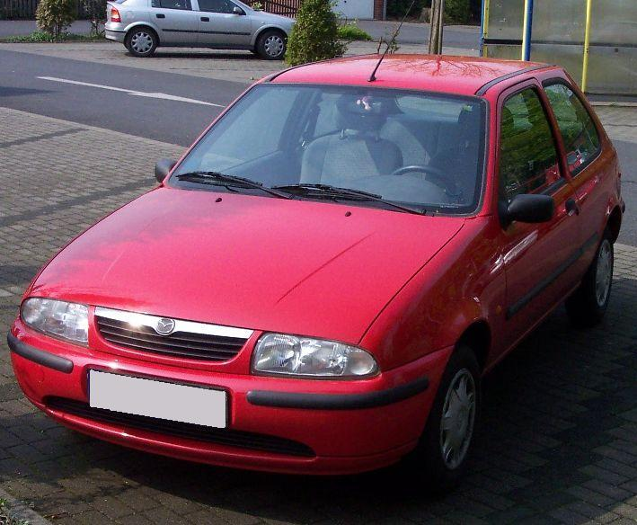 Mazda 2 Hatchback >> Mazda 121 – Wikipedia, wolna encyklopedia