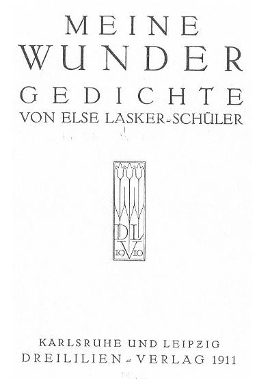 Meine Wunder Gedichtband Wikipedia