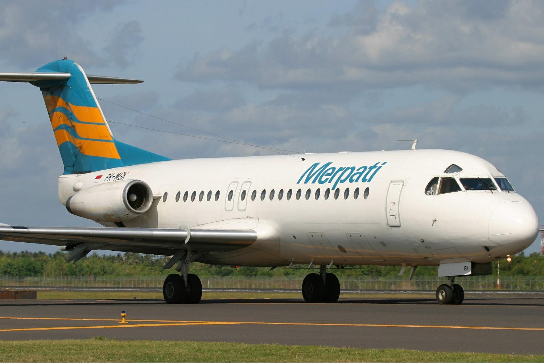 Merpati_Nusantara_Fokker_F-28-4000_Fello
