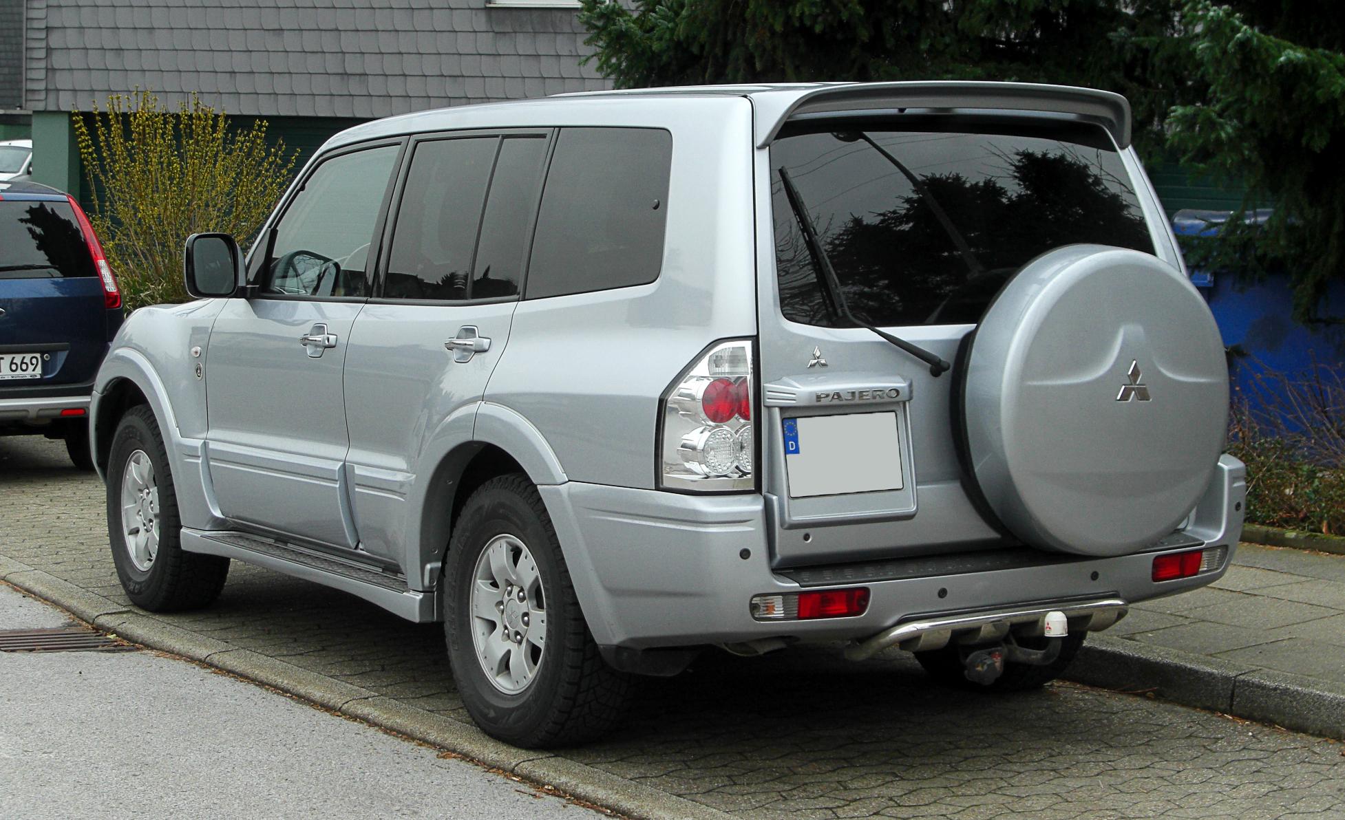 Mitsubishi pajero 3.2 di-d at, madled светодиодная ...