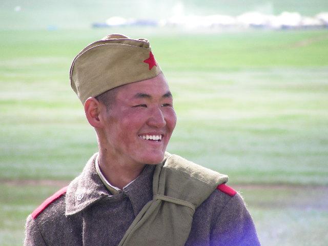 File:Mongolian Soldier.JPG - Wikimedia Commons: http://commons.wikimedia.org/wiki/File:Mongolian_Soldier.JPG