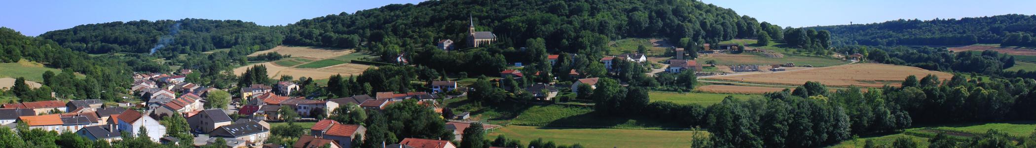 View of Montenach