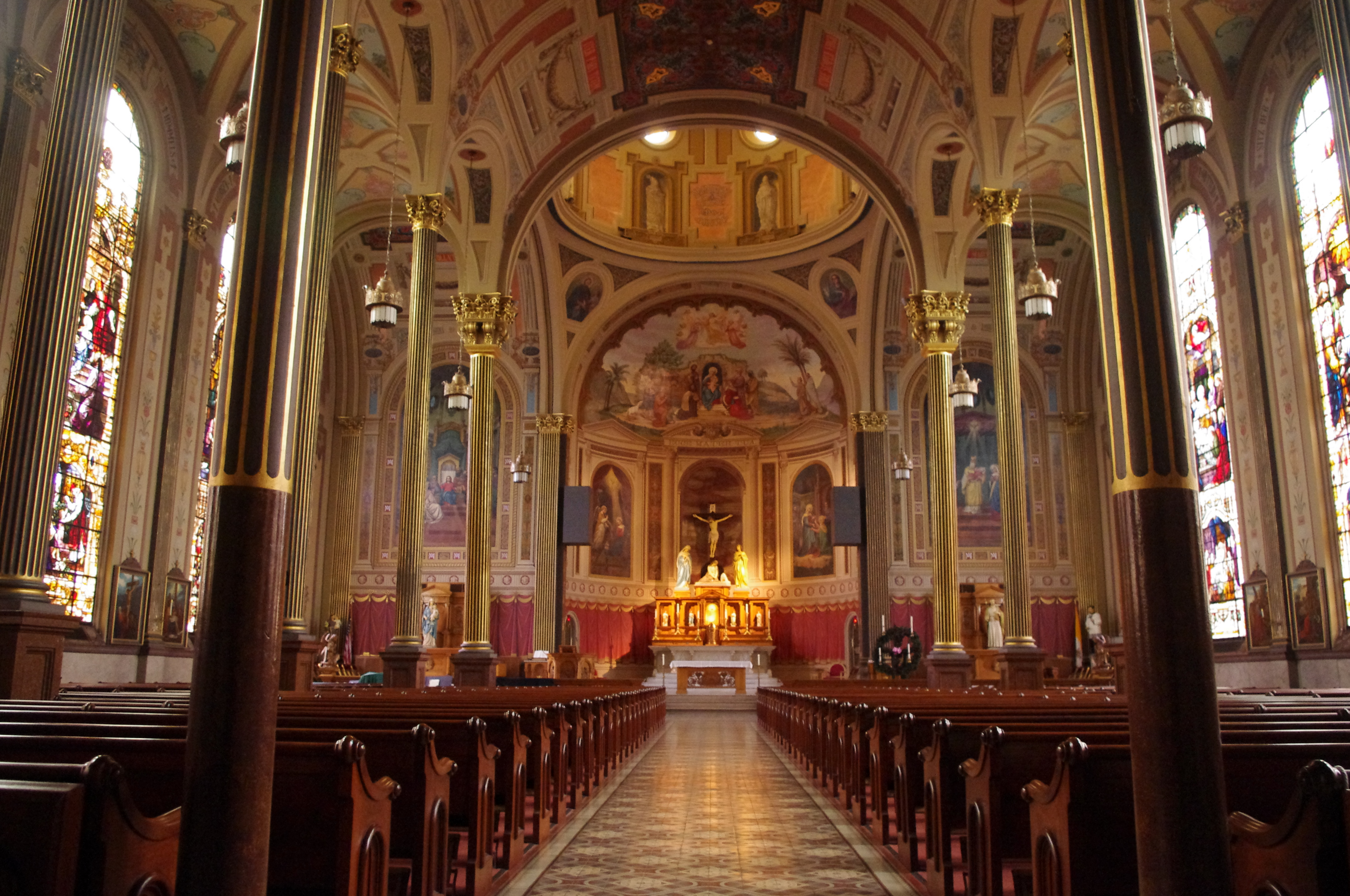 File:Mother of God Church (Covington, Kentucky), interior ...
