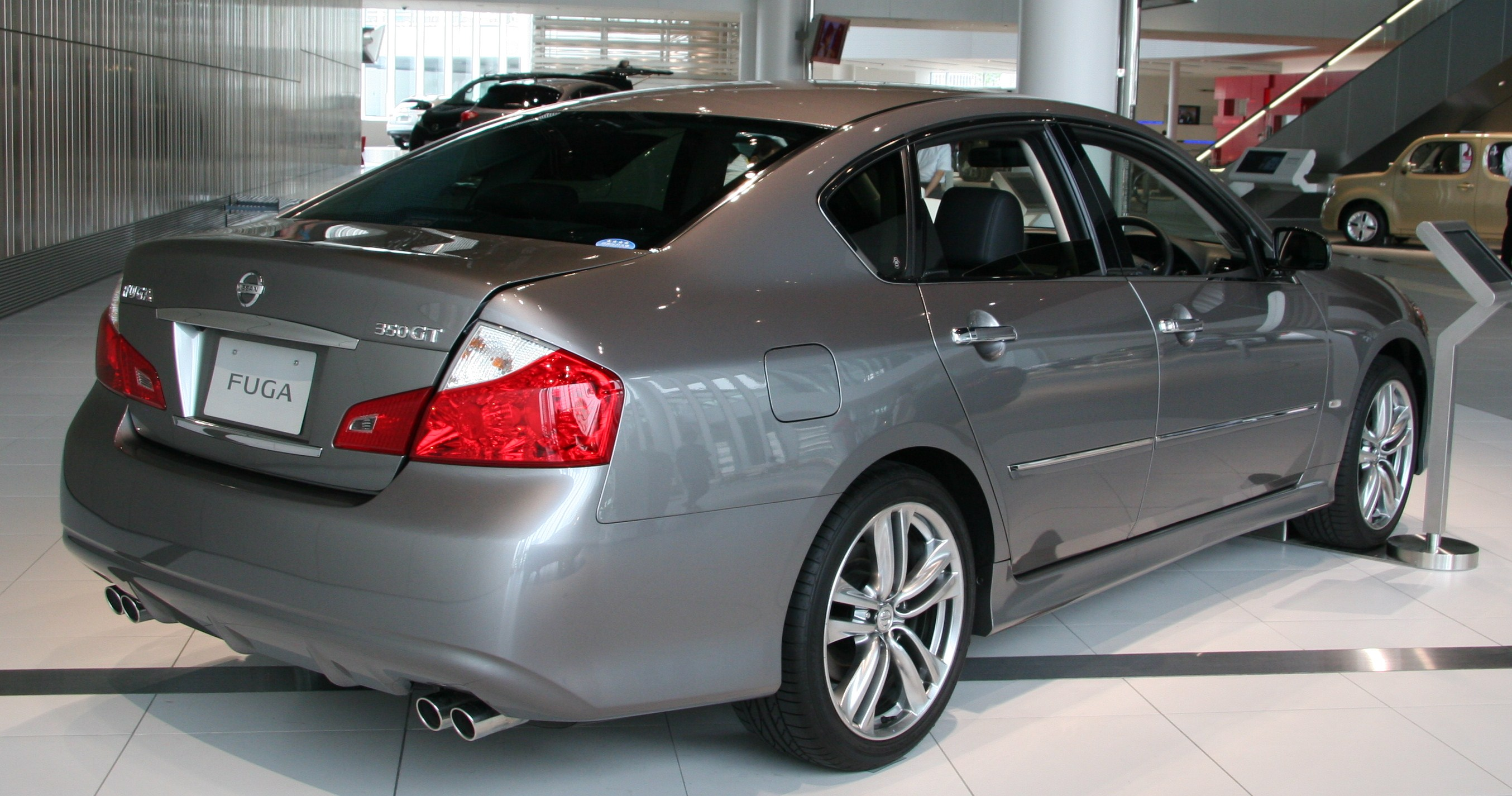Nissan fuga gallery all pictures top nissan fuga gallery vanachro Choice Image