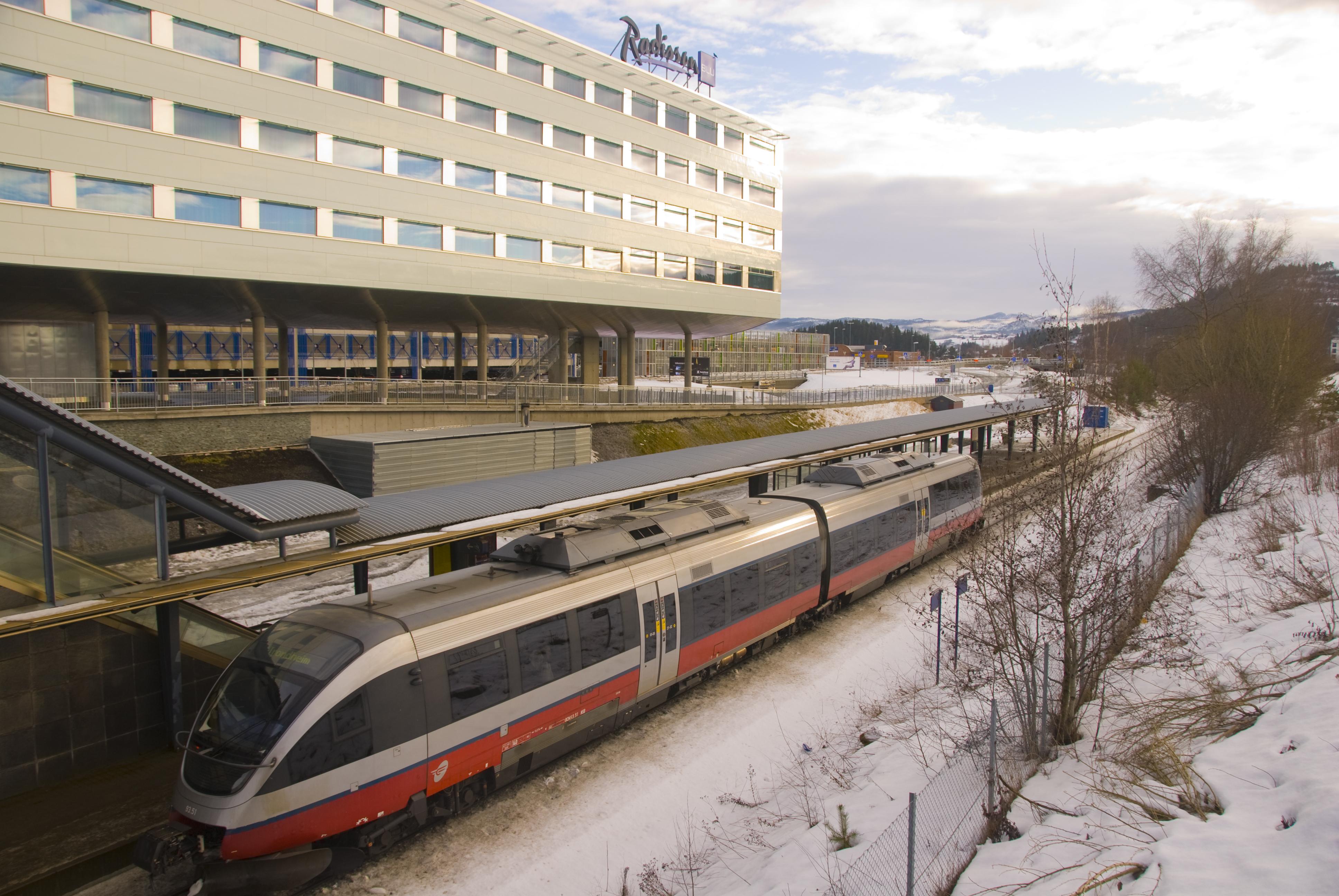 Værnes Station (Trondheim Lufthavn)