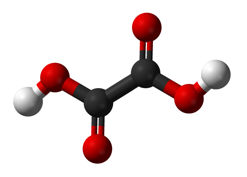 Fileoxalicacid stickandball png wikimedia commons - high grade oxalic acid