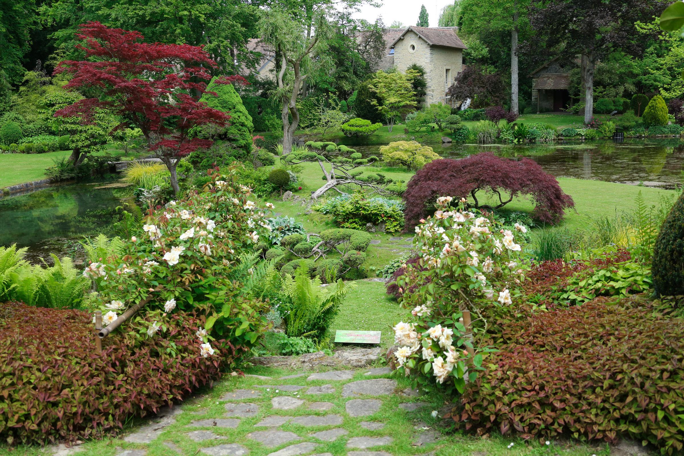 File Parc chateau courances essonne partie du jardin japonais