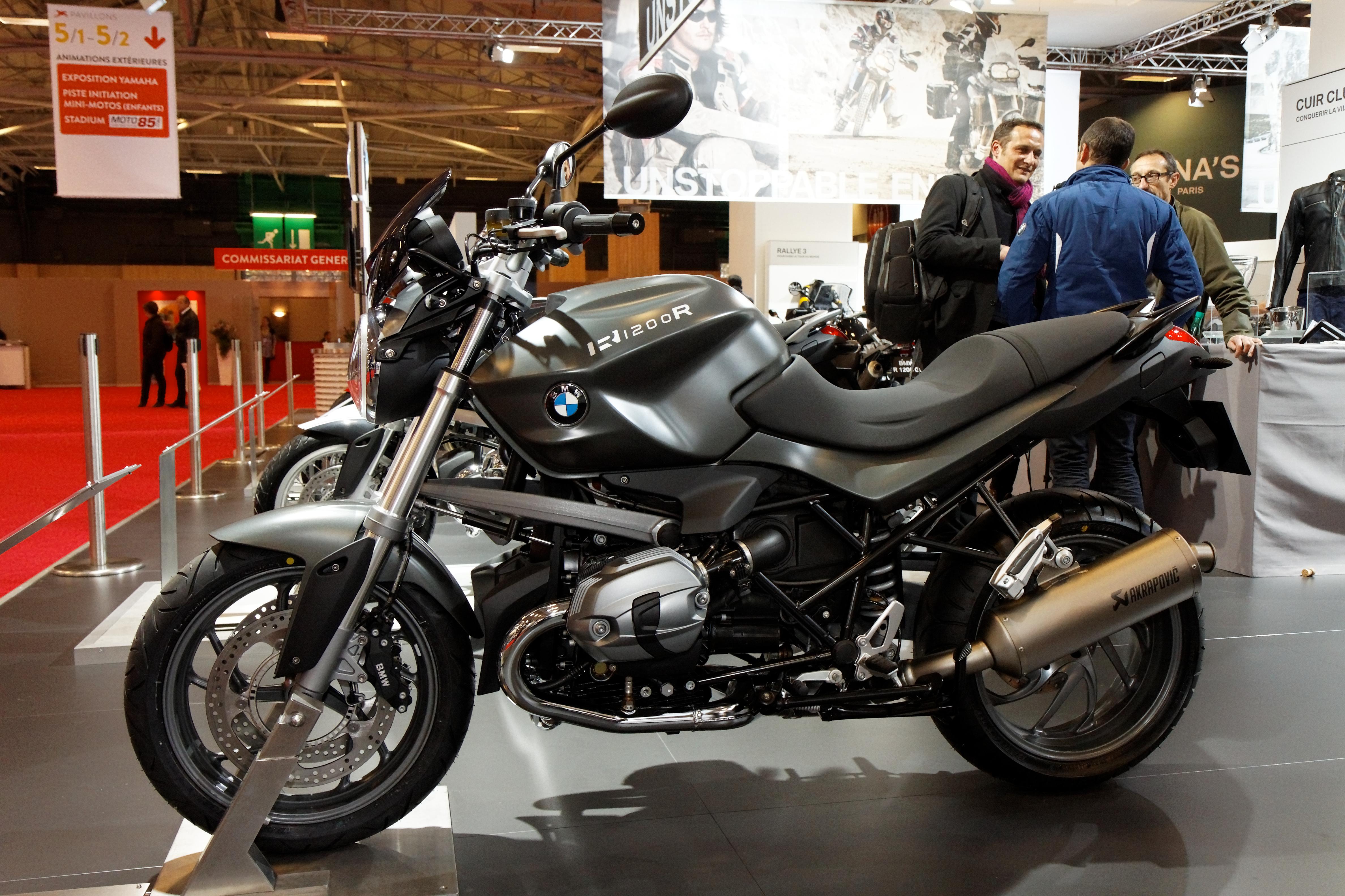 File:Paris - Salon de la moto 2011 - BMW - R 1200 R - 001.jpg ...