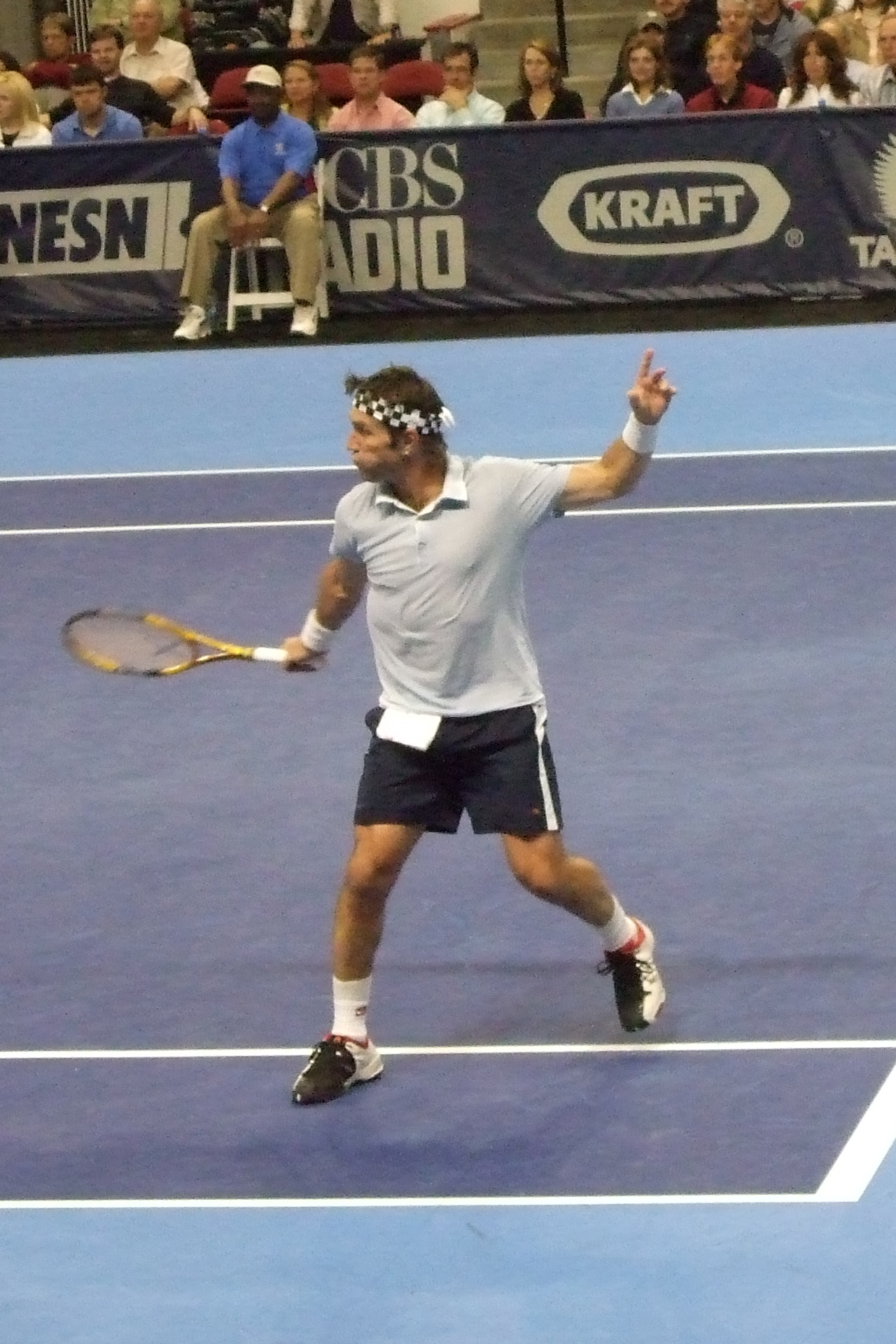 Depiction of Pat Cash