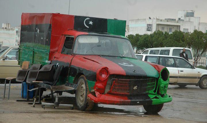 libya car. Black Bedroom Furniture Sets. Home Design Ideas