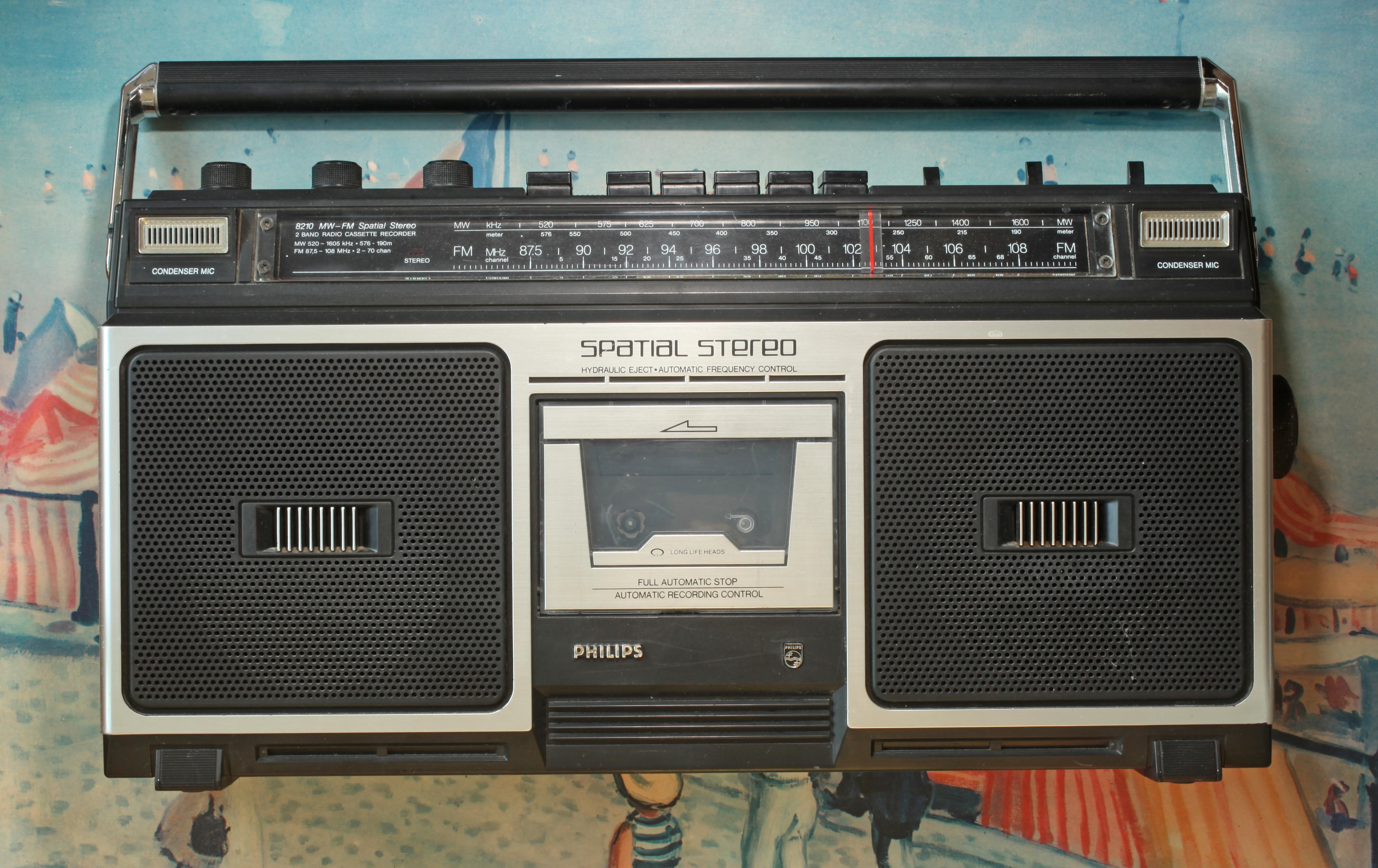 File philips d 8210 00 vintage wikimedia commons - Phillips ghetto blaster ...
