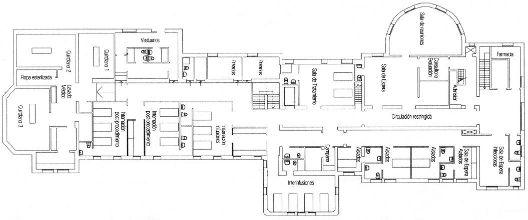File:Plano_general_del_Hospital_de_D%C3%ADa on Valencia Floor Plan