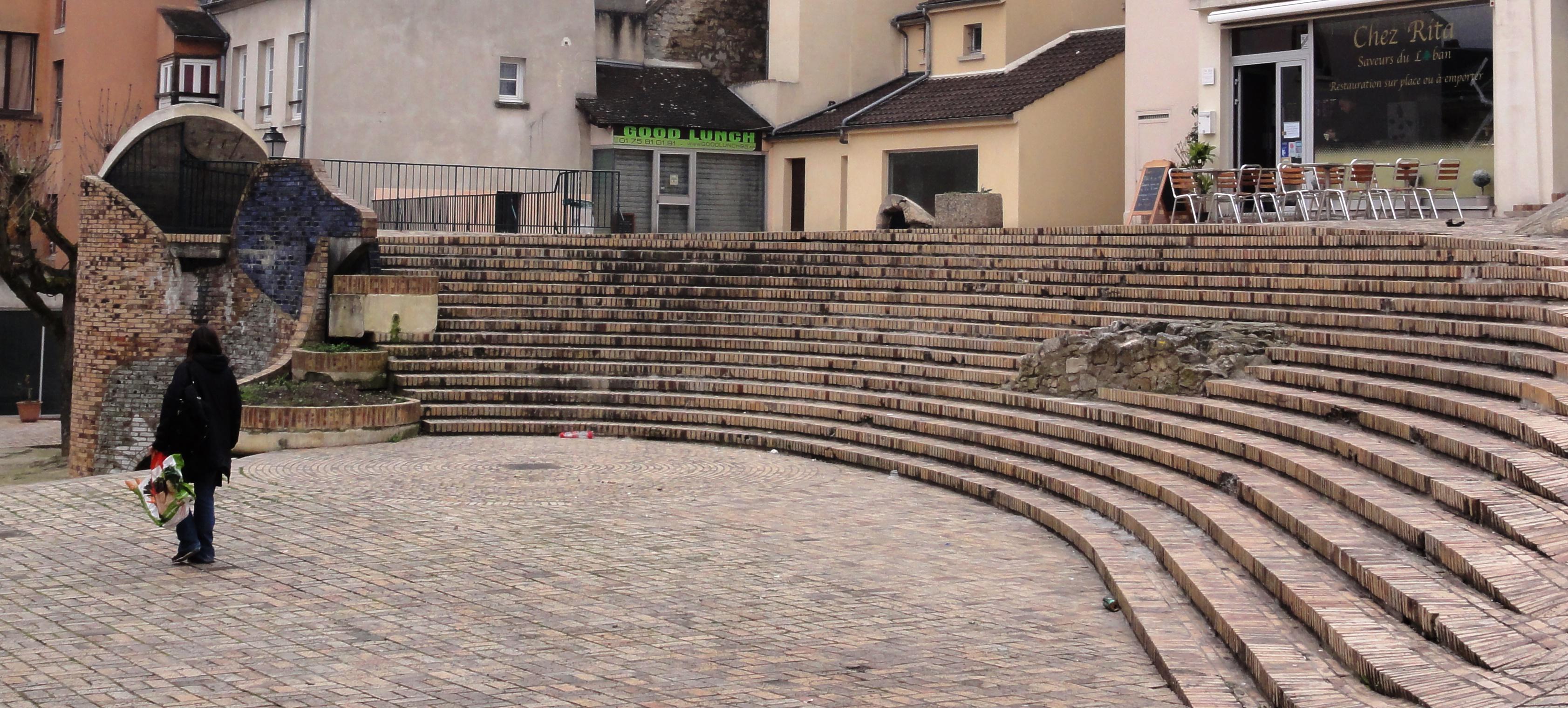 Escalier Val D Oise file:pontoise (val-d'oise) place des moineaux, les escaliers