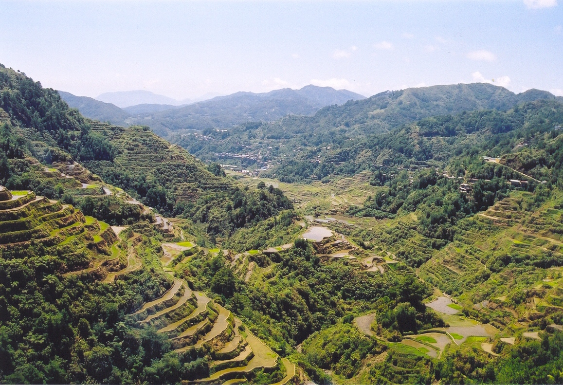 File rice terraces wikimedia commons for What are terraces