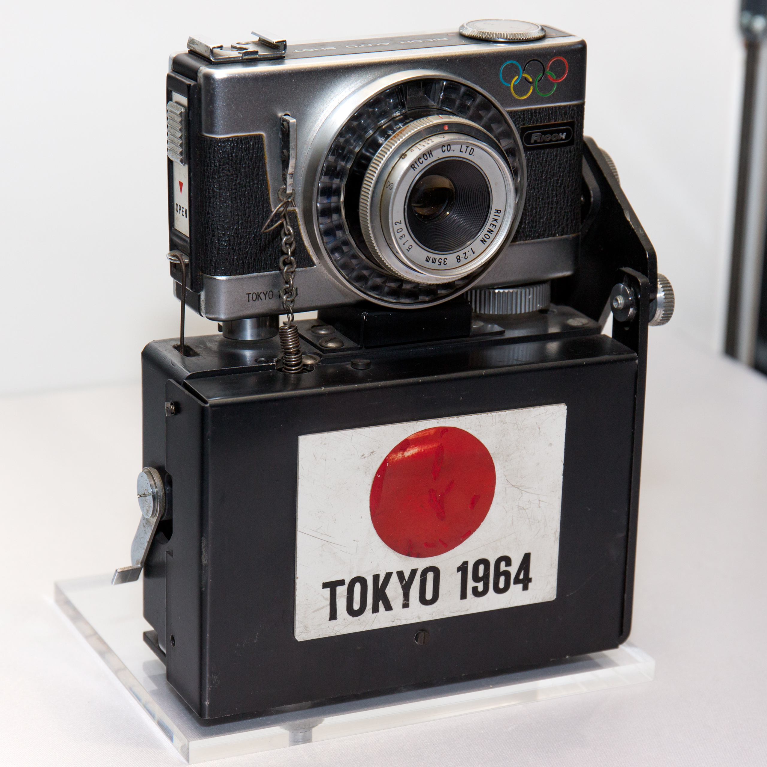 File Ricoh Auto Shot for 1964 Summer Olympics finish line recording