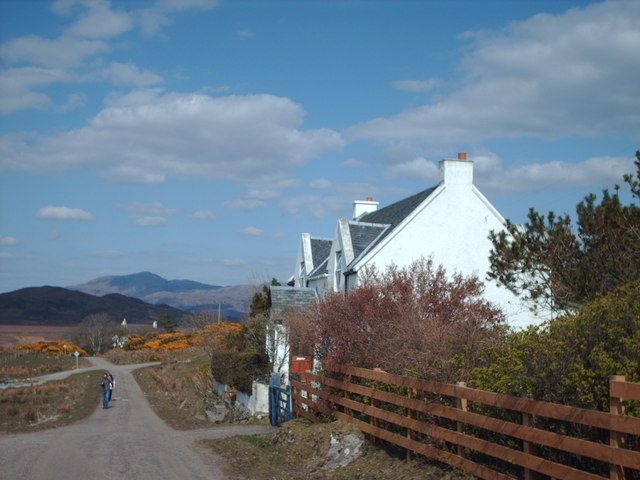 File:Road Next To Kinloid Cottage - geograph.org.uk - 772509.jpg