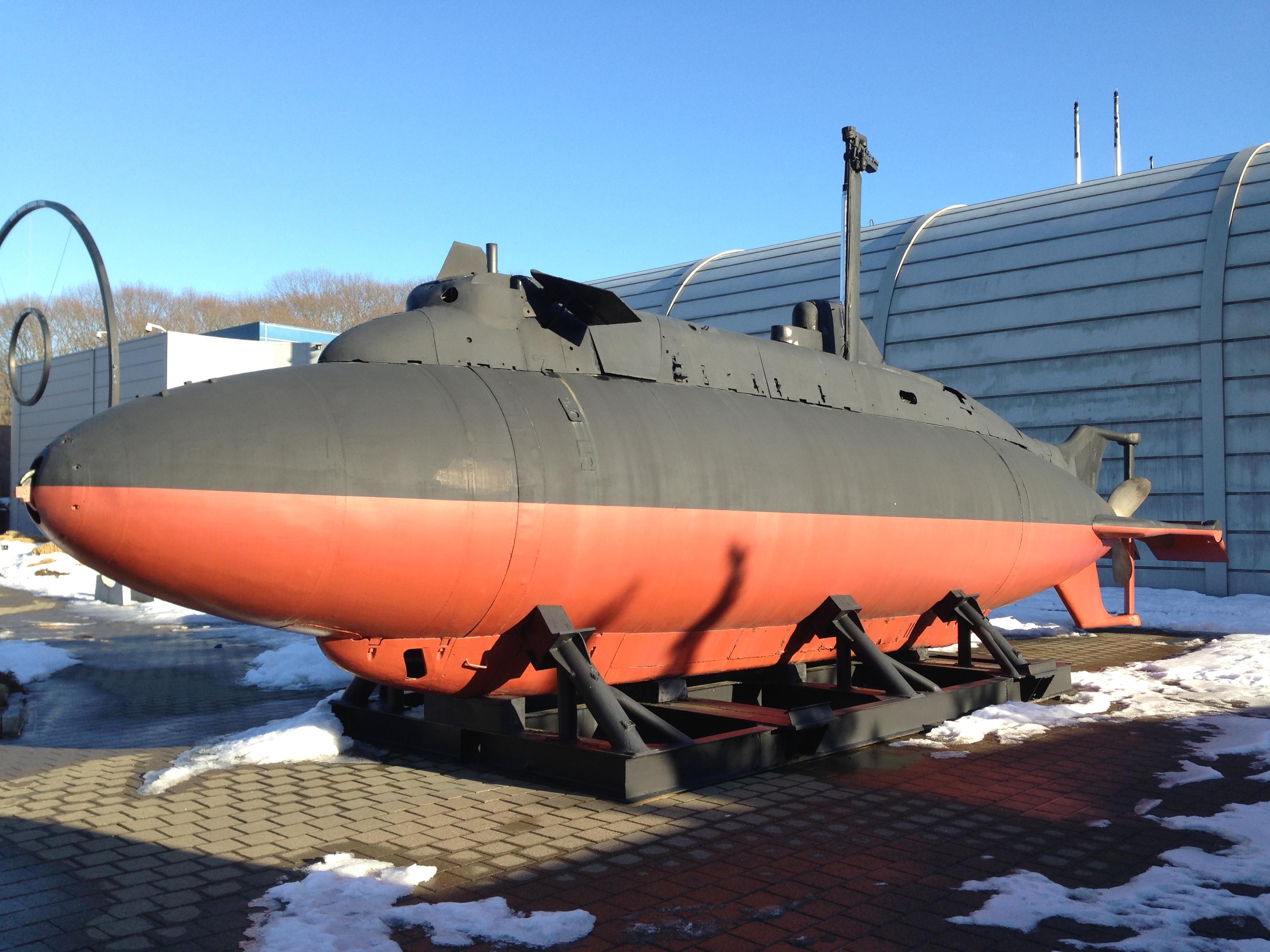 Great the midget submarine fravorite