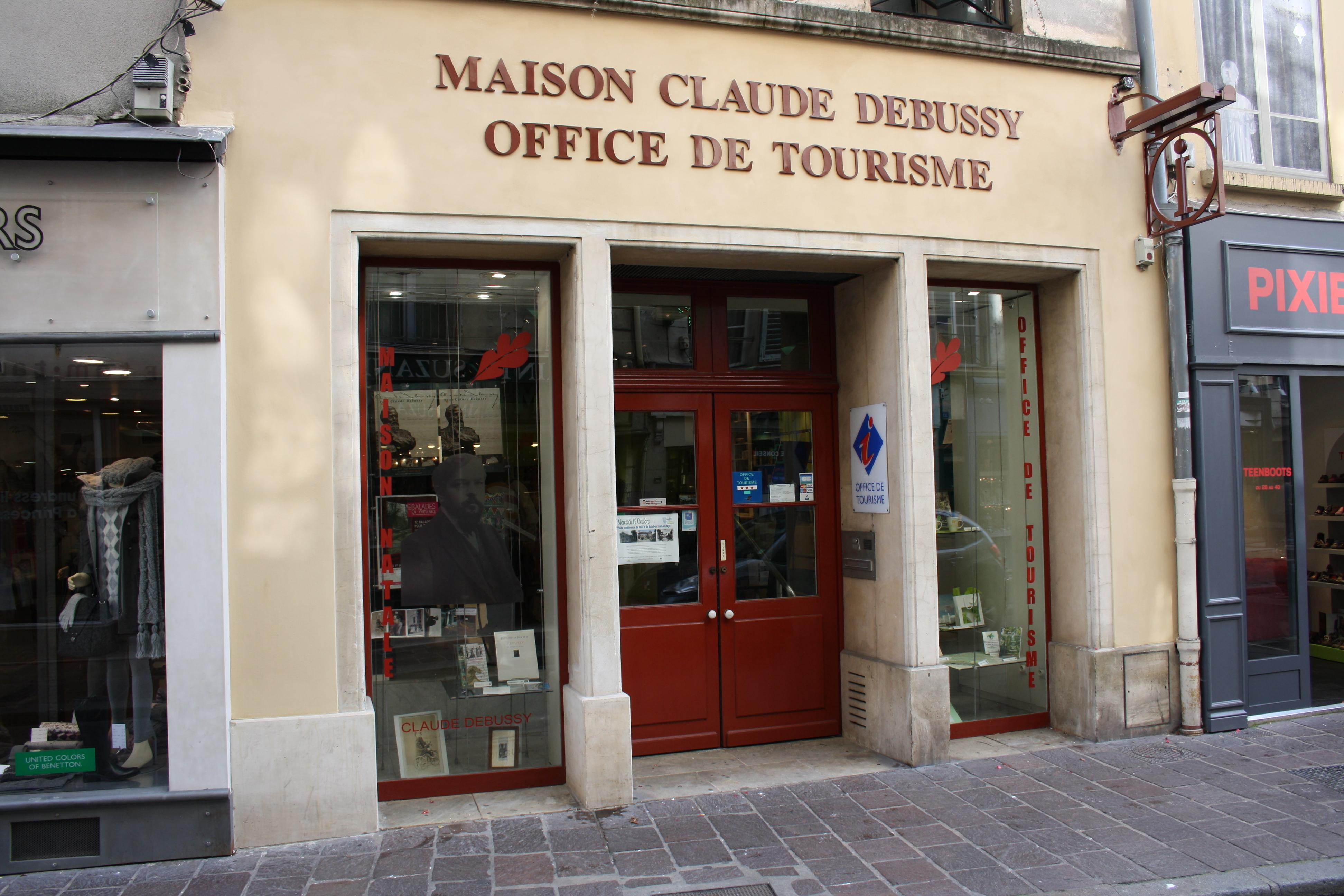 File saint germain en laye maison claude debussy 2011 11 - Office du tourisme st germain en laye ...