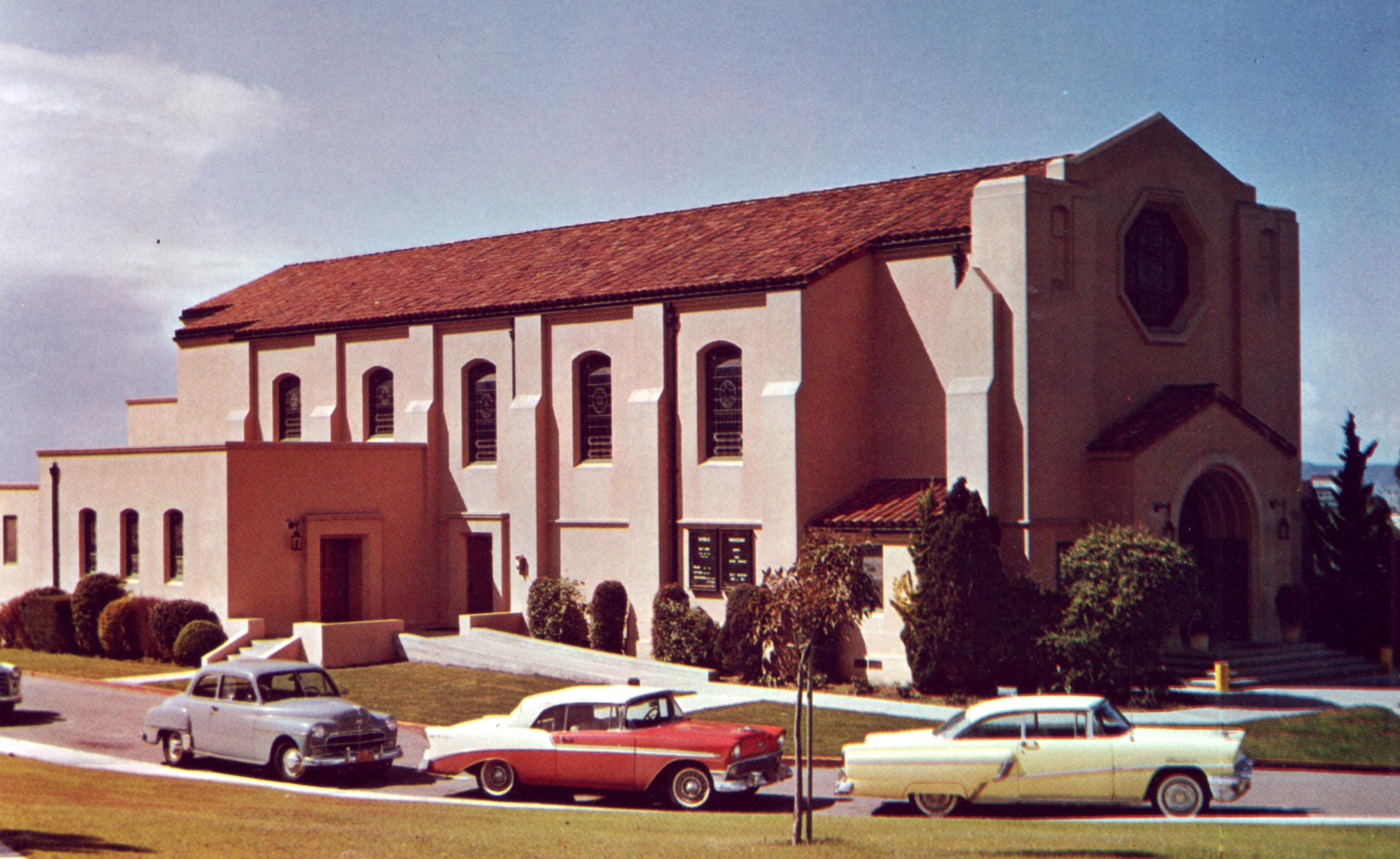 File San Diego Ca Old Naval Hospital Chapel 1955 Jpg