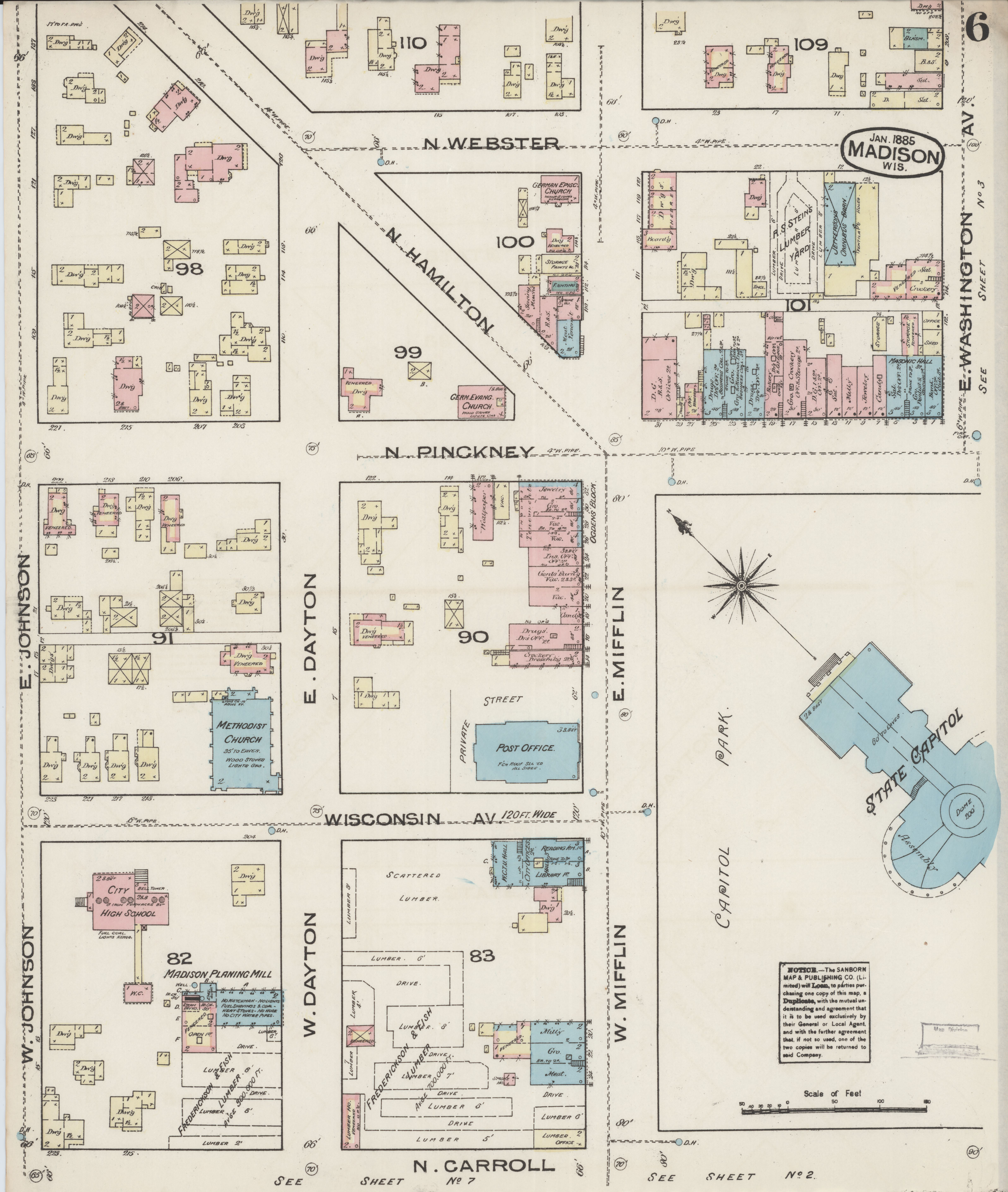 File:Sanborn Fire Insurance Map from Madison, Dane County ...