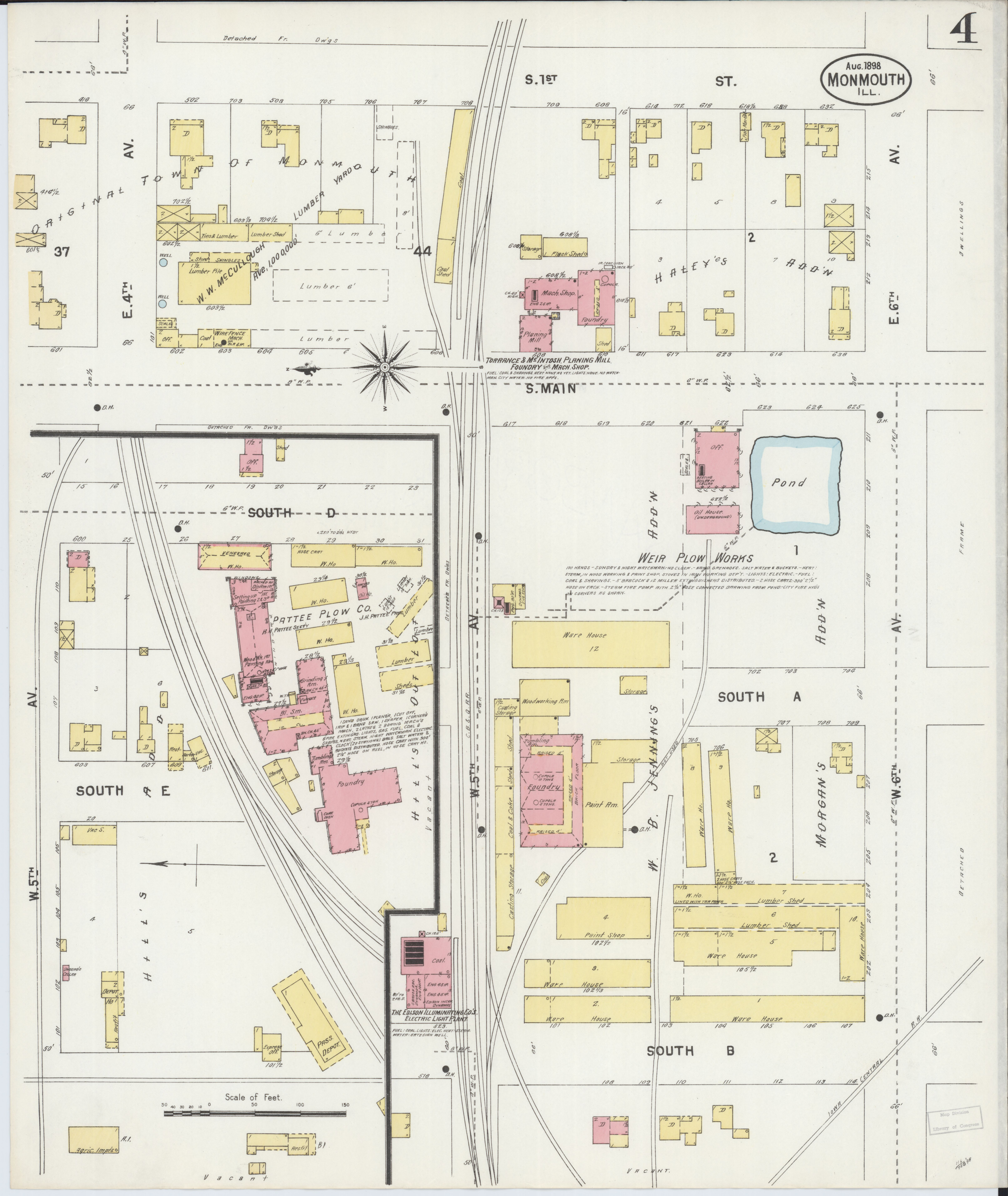File Sanborn Fire Insurance Map From Monmouth Warren County