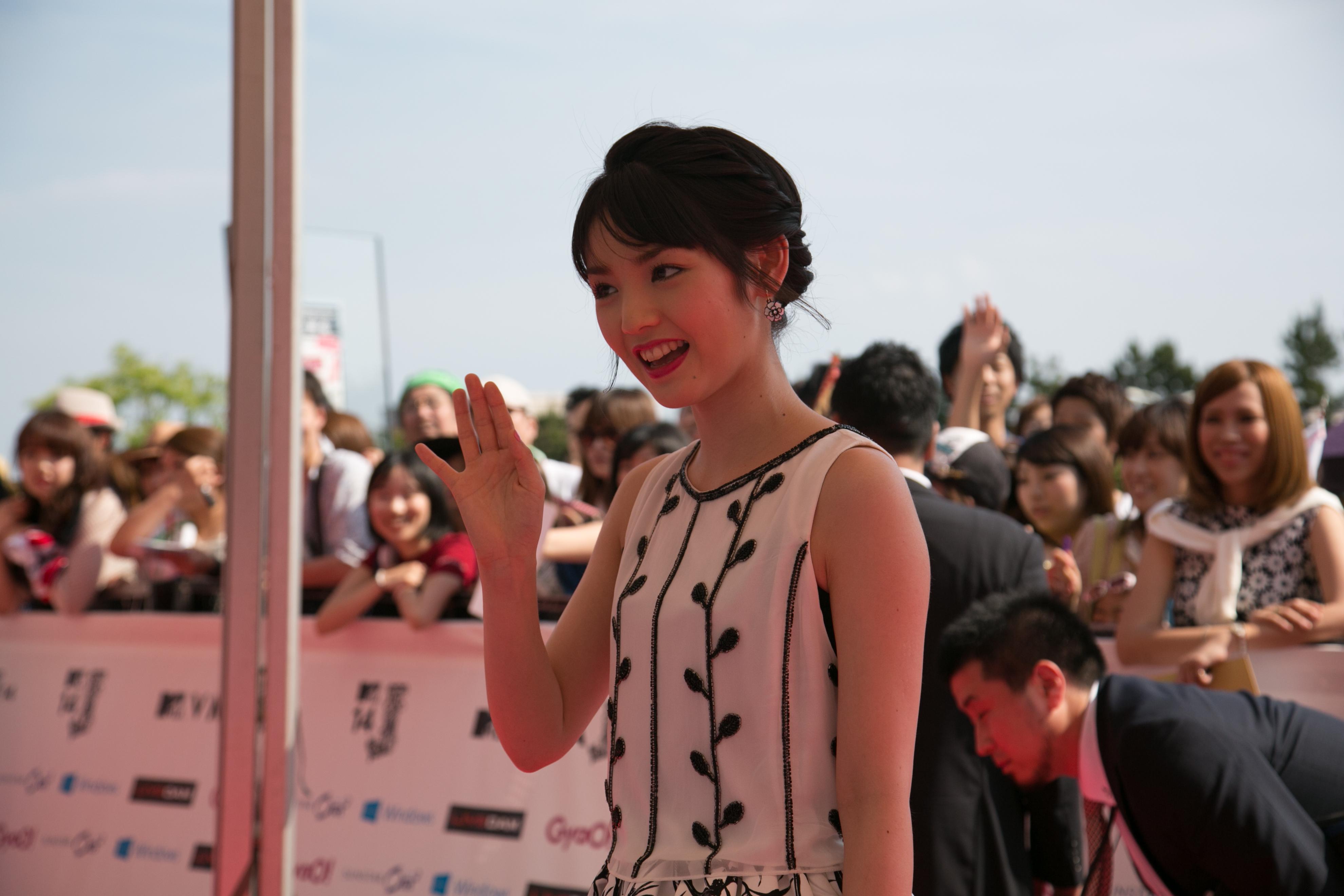 Description sayumi michishige at 2014 mtv video music awards japan
