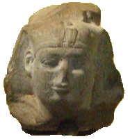 Head of a ushabti of pharaoh Shabaka-AF 6639