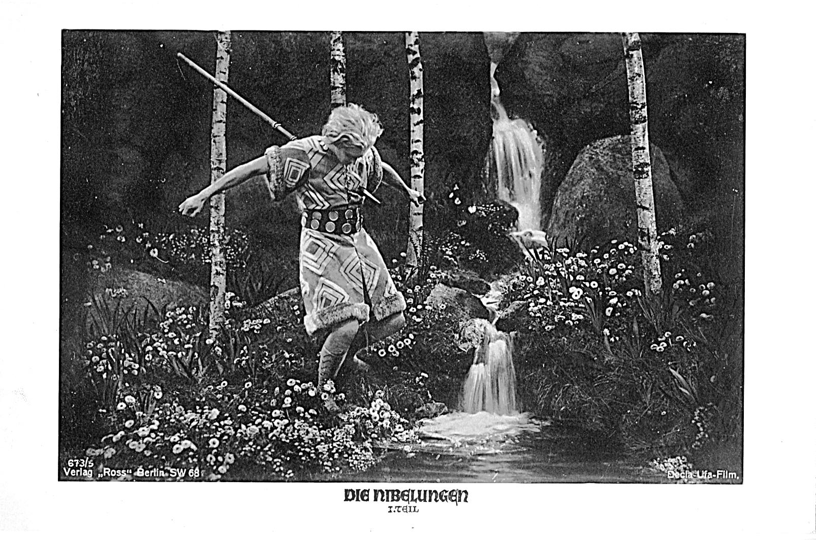 Les Nibelungen La Mort De Siegfried Die Nibelungen Siegfried 1924 ...