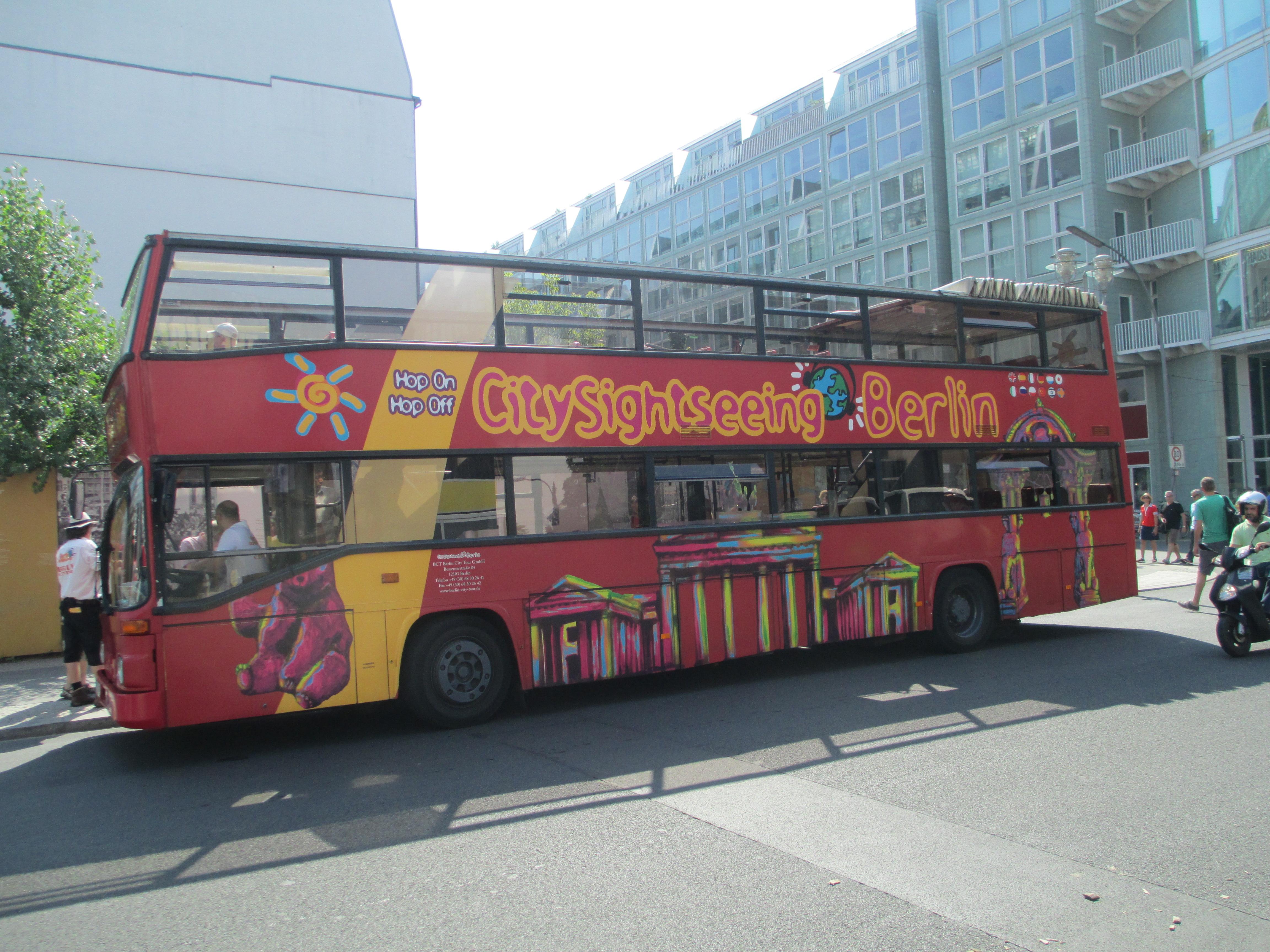 File Sightseeing Double Decker Bus In Berlin Jpg Wikimedia Commons