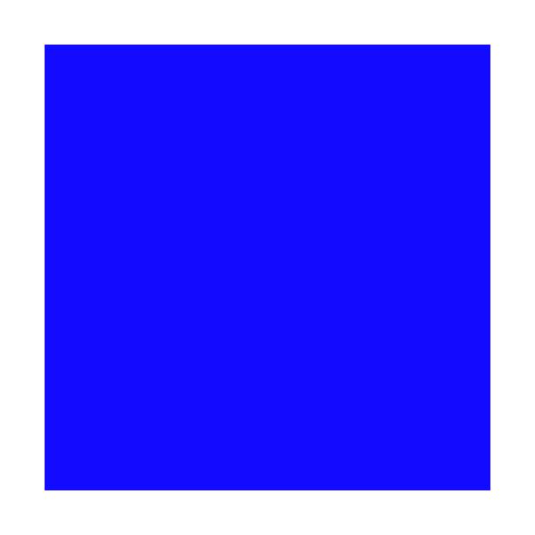 Blue Paint Circle