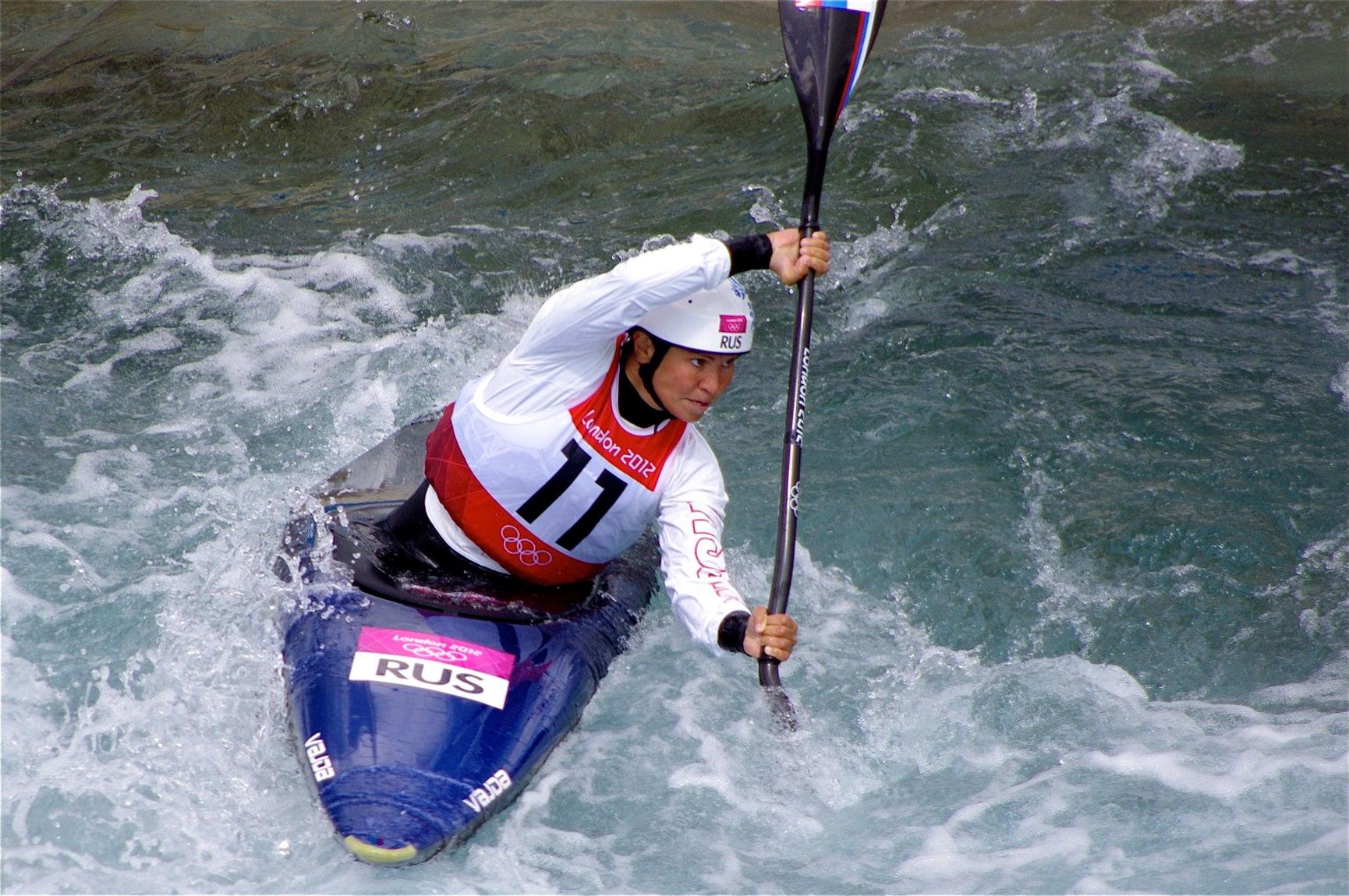 FileSlalom Canoeing 2012 Olympics W K1 RUS Marta Kharitonova 2