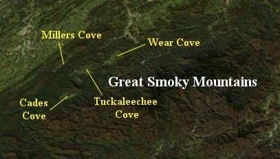 Coves of the northeast Great Smoky Mountains