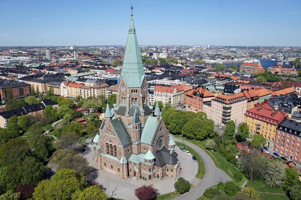 Bild av Sofia kyrka