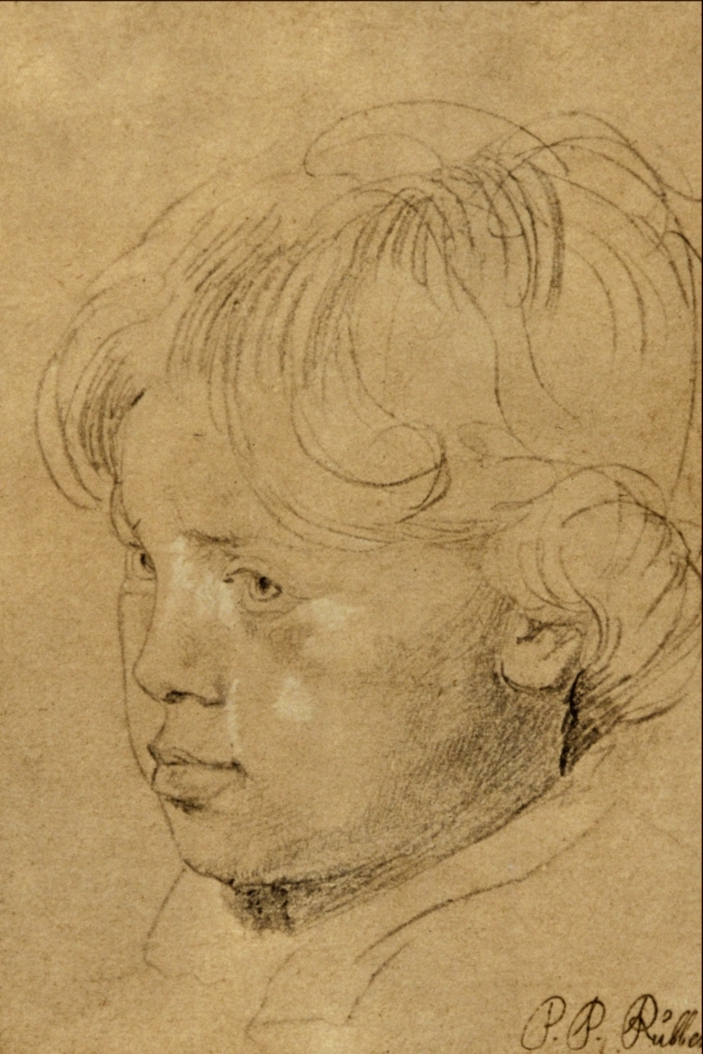 Rubens Figure Drawings File:Son of the Artist...