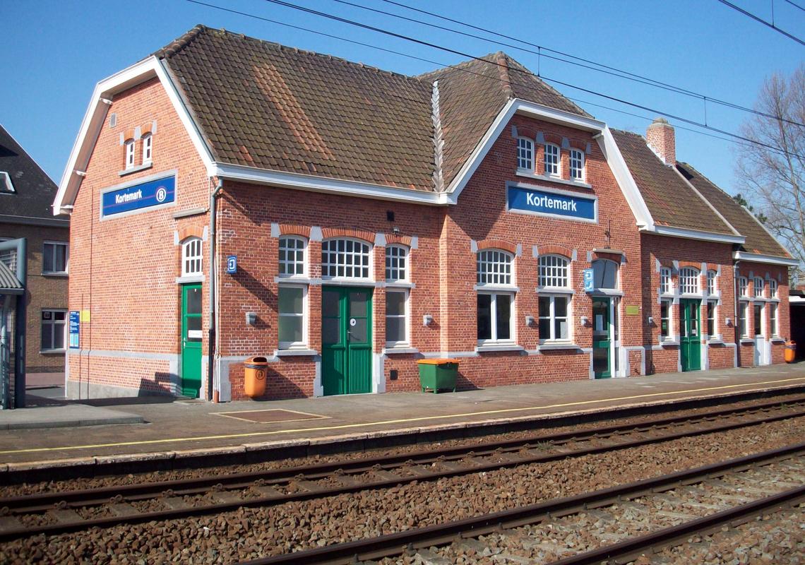 Station Kortemark - Wikipedia
