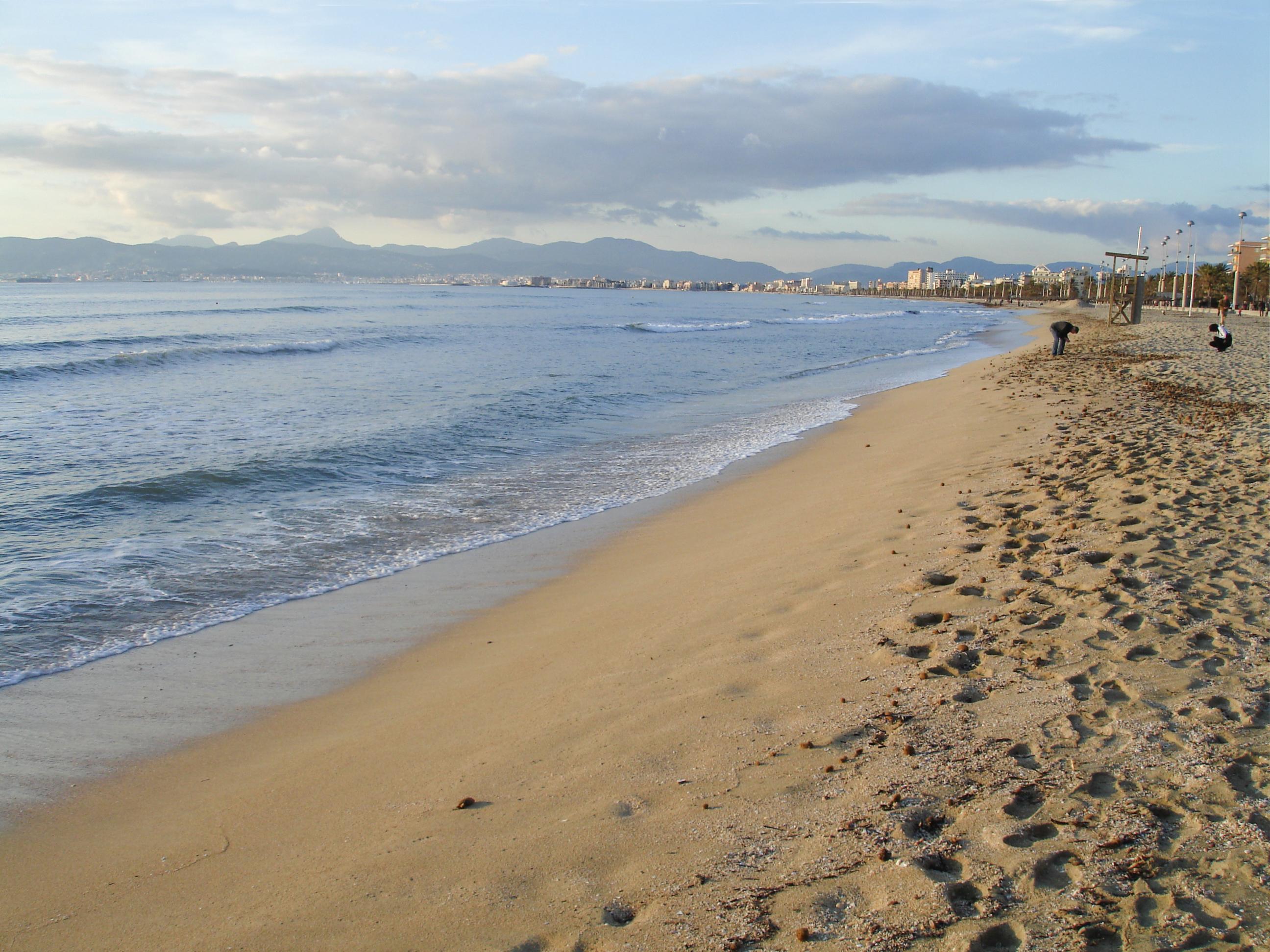 Platja de Palma im Winter