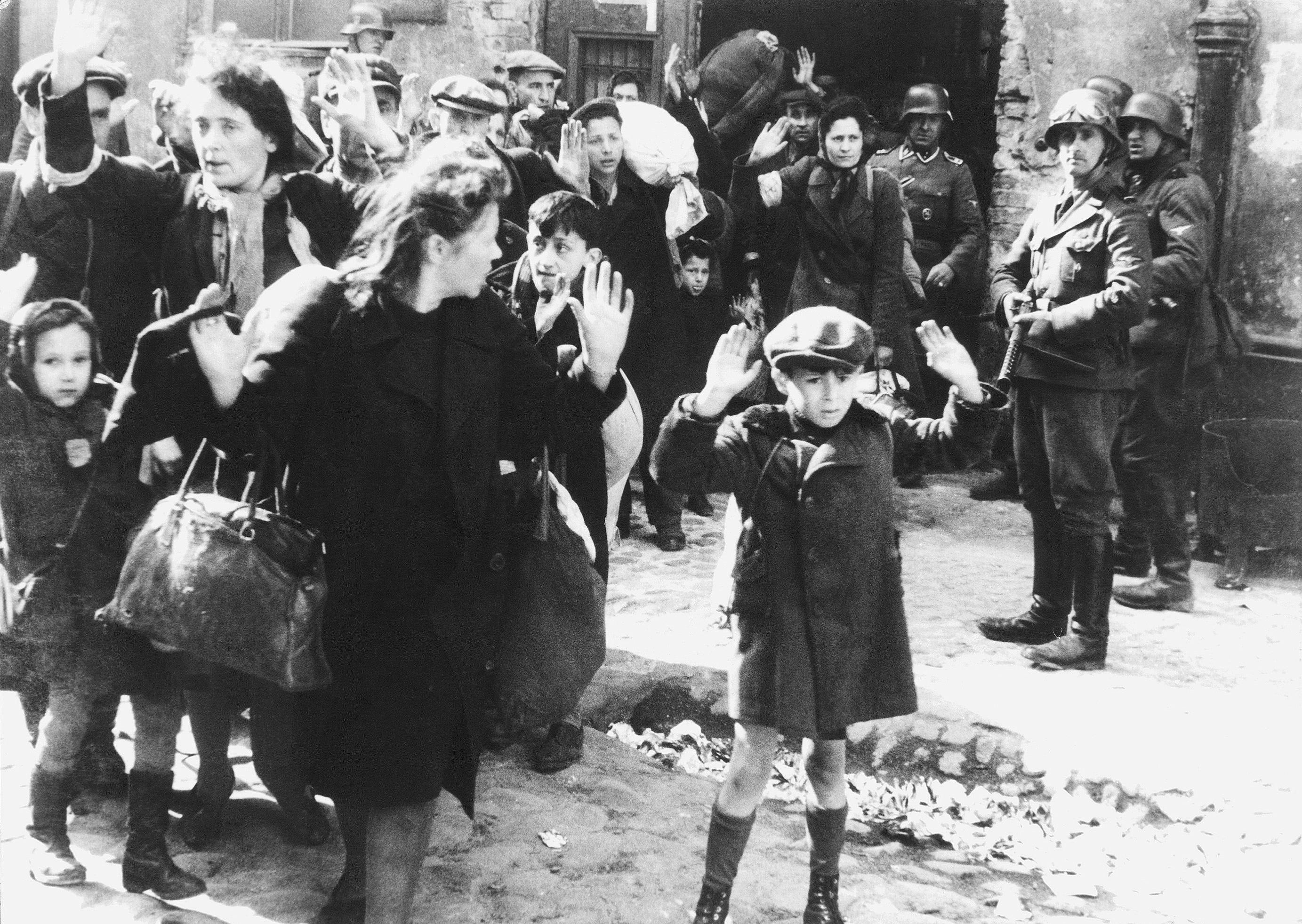 Niño judío se rinde en Varsovia - Wikipedia, la enciclopedia libre