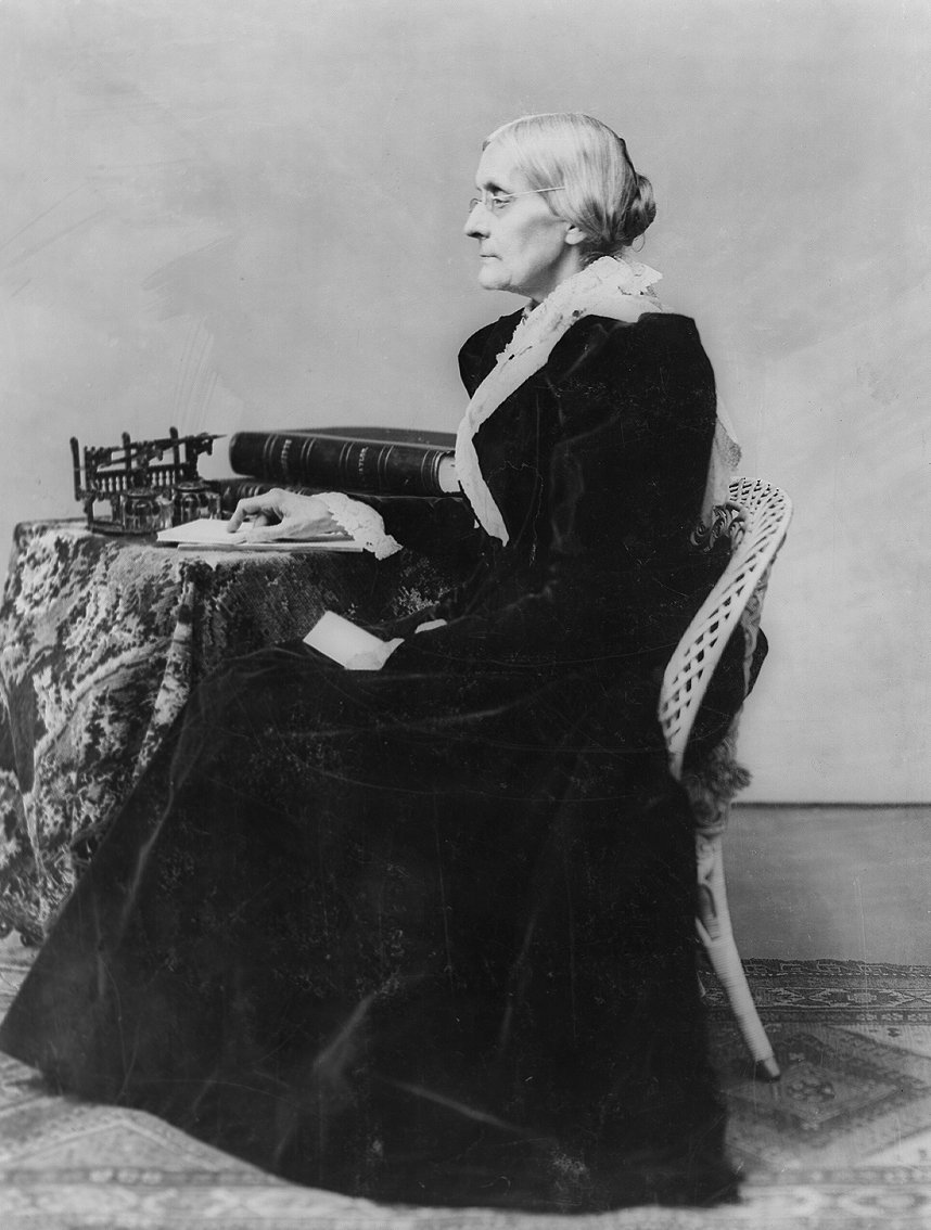 susan b anthony Arrested in 1872 for voting in the national election, susan b anthony continued the struggle for women's suffrage for the rest of her life.